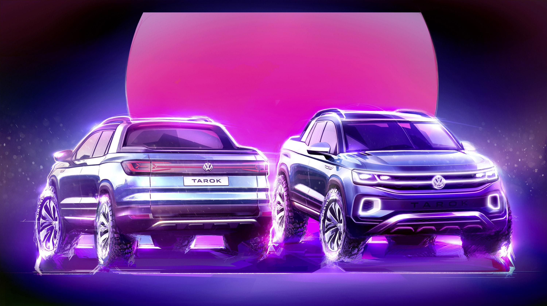 Vw Atlas Interior >> Volkswagen reveals new Tarok Concept model