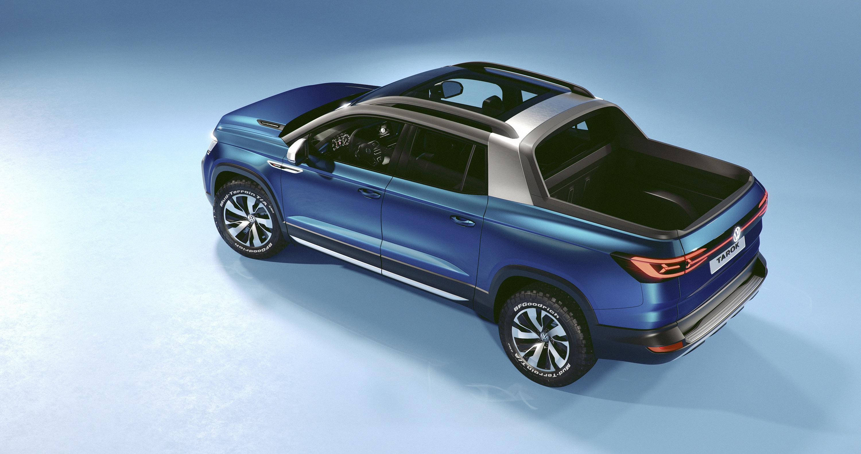 Volkswagen Reveals New Tarok Concept Model