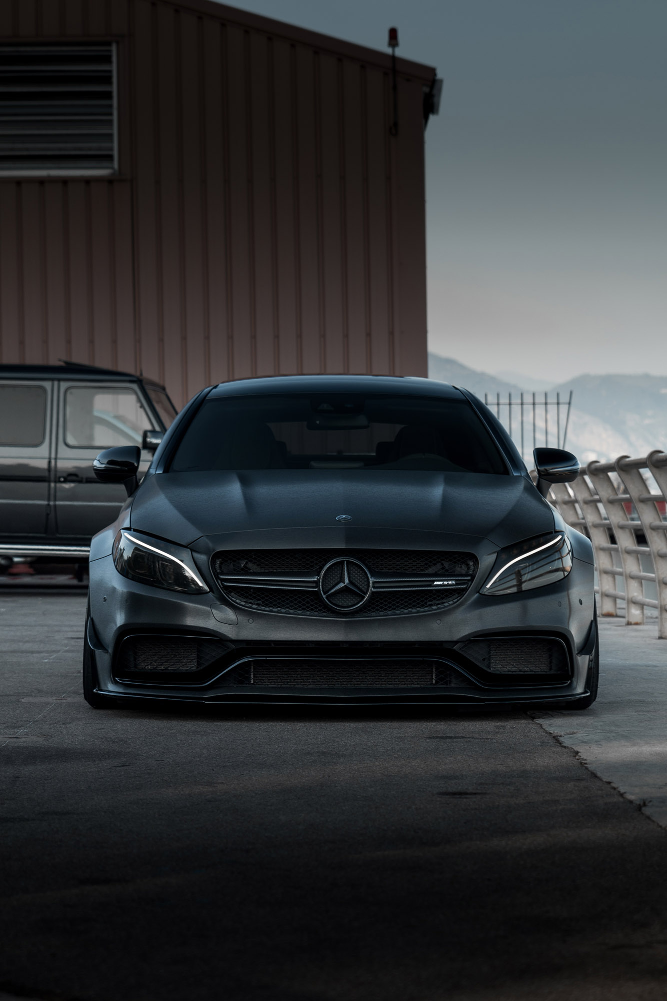 Z Performance Presents Mercedes Amg Quot The Dark Knight Quot