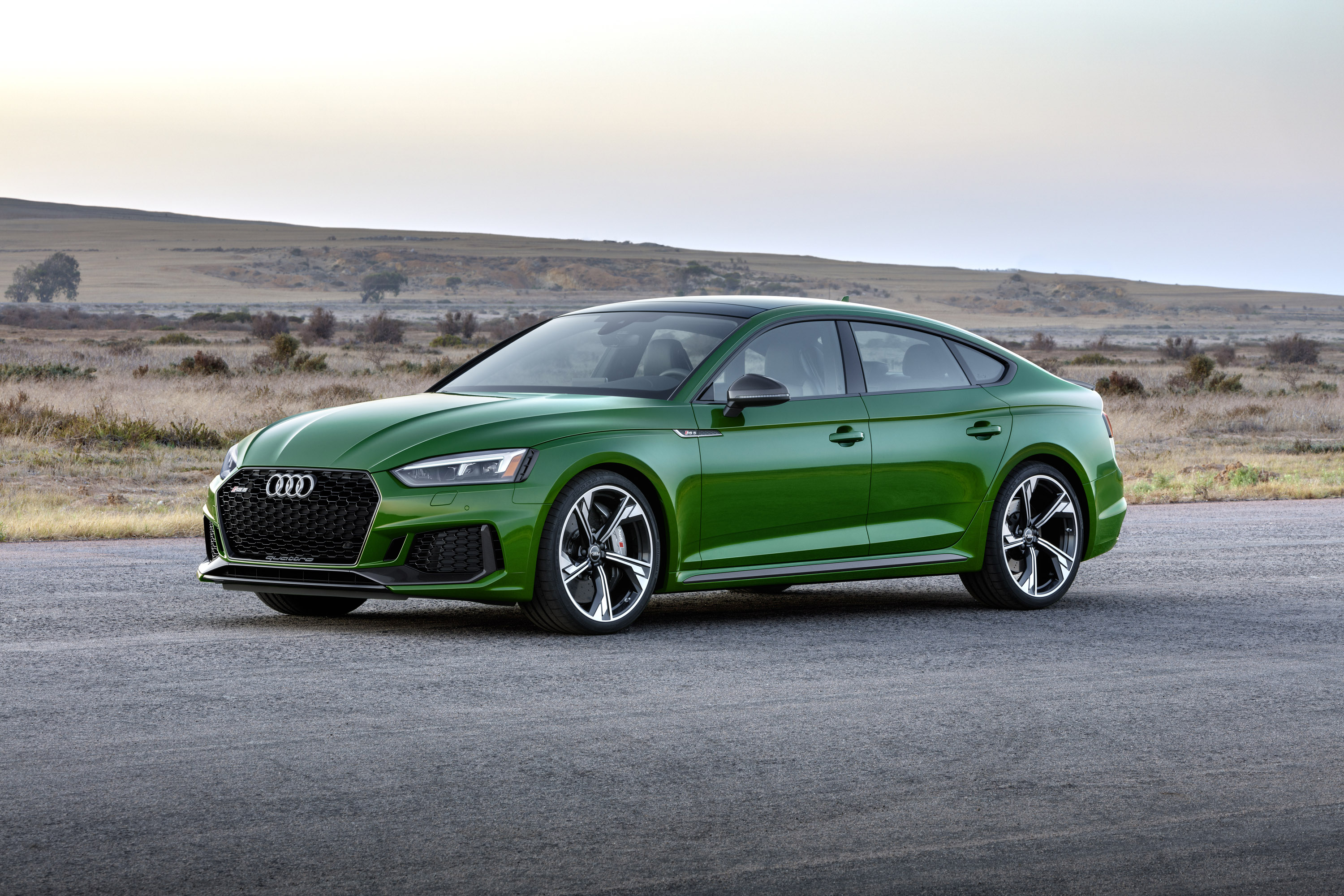 audi reveals 2019 rs 5 sportback. Black Bedroom Furniture Sets. Home Design Ideas
