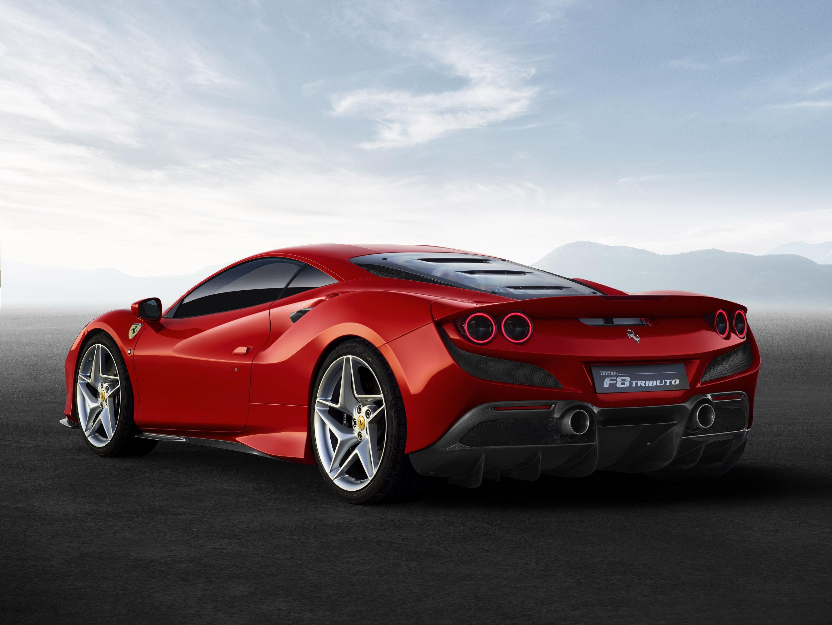 Ferrari Reveals New F8 Tributo Model