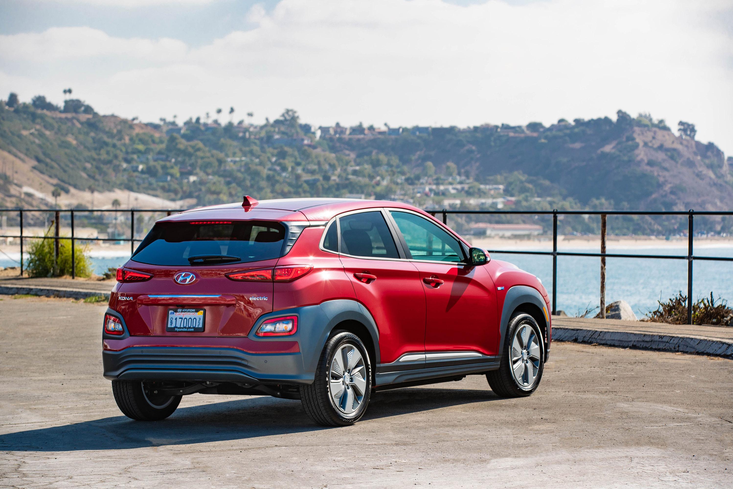 Hyundai Reveals New Kona Electric