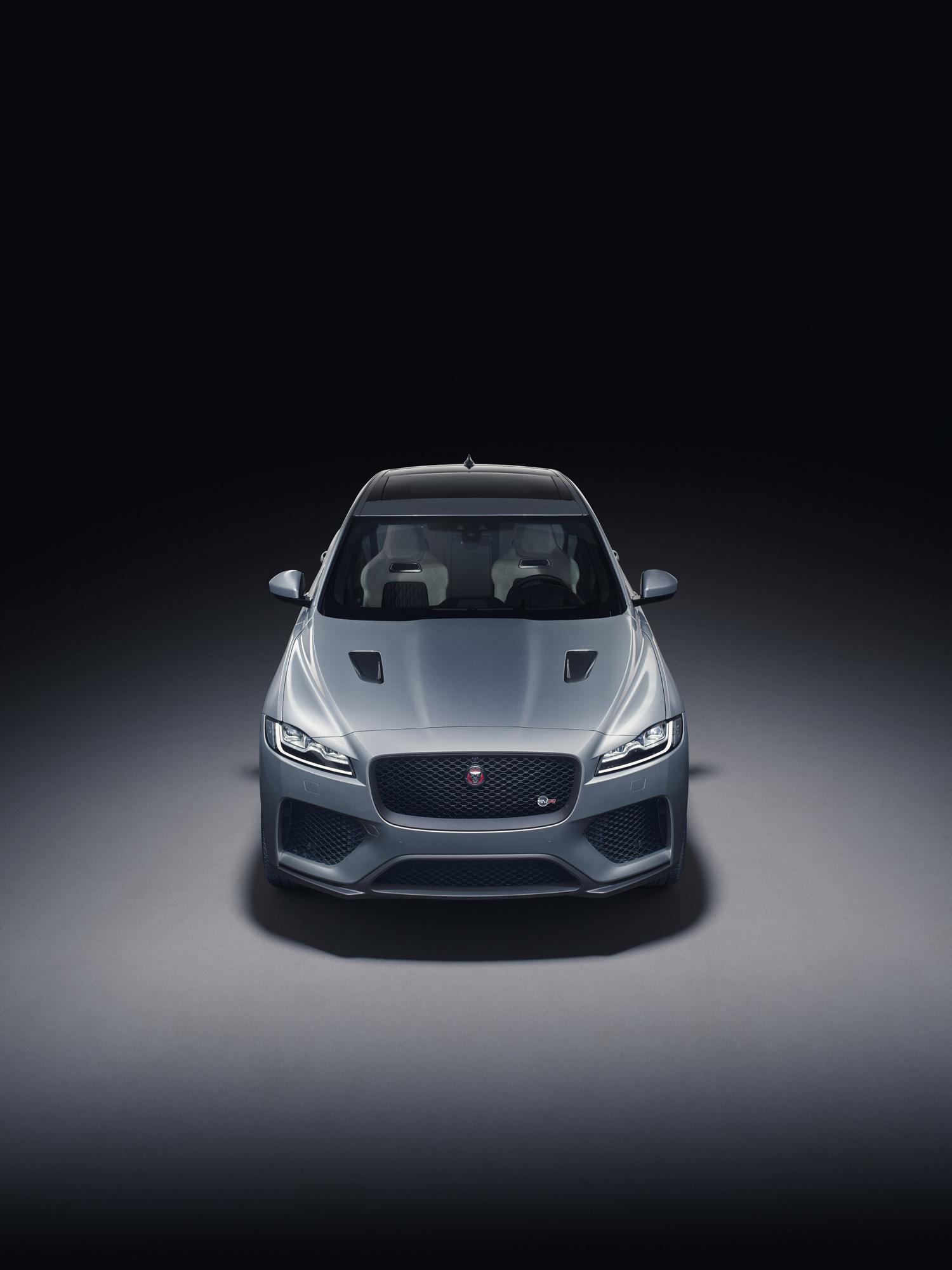 Jaguar Unveils F