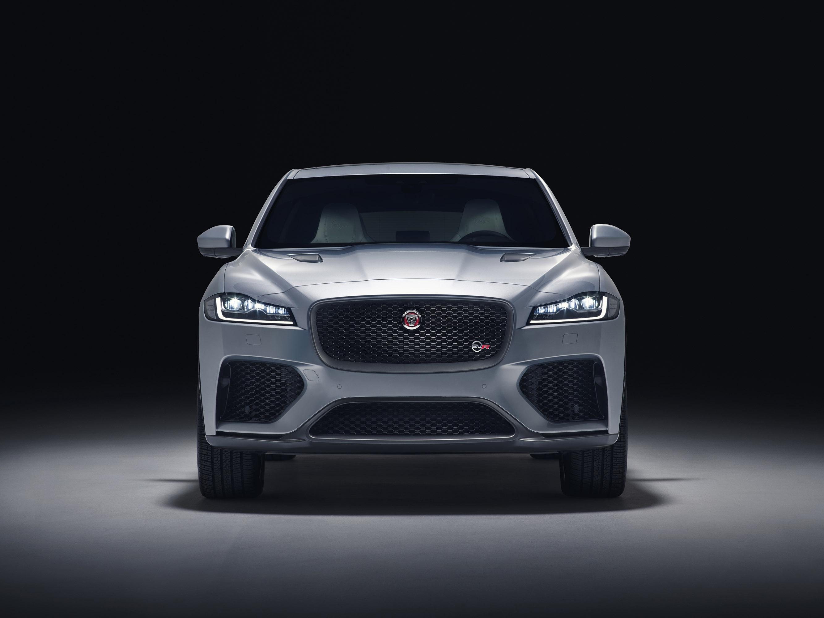 Jaguar unveils f pace svr for Interieur jaguar f pace