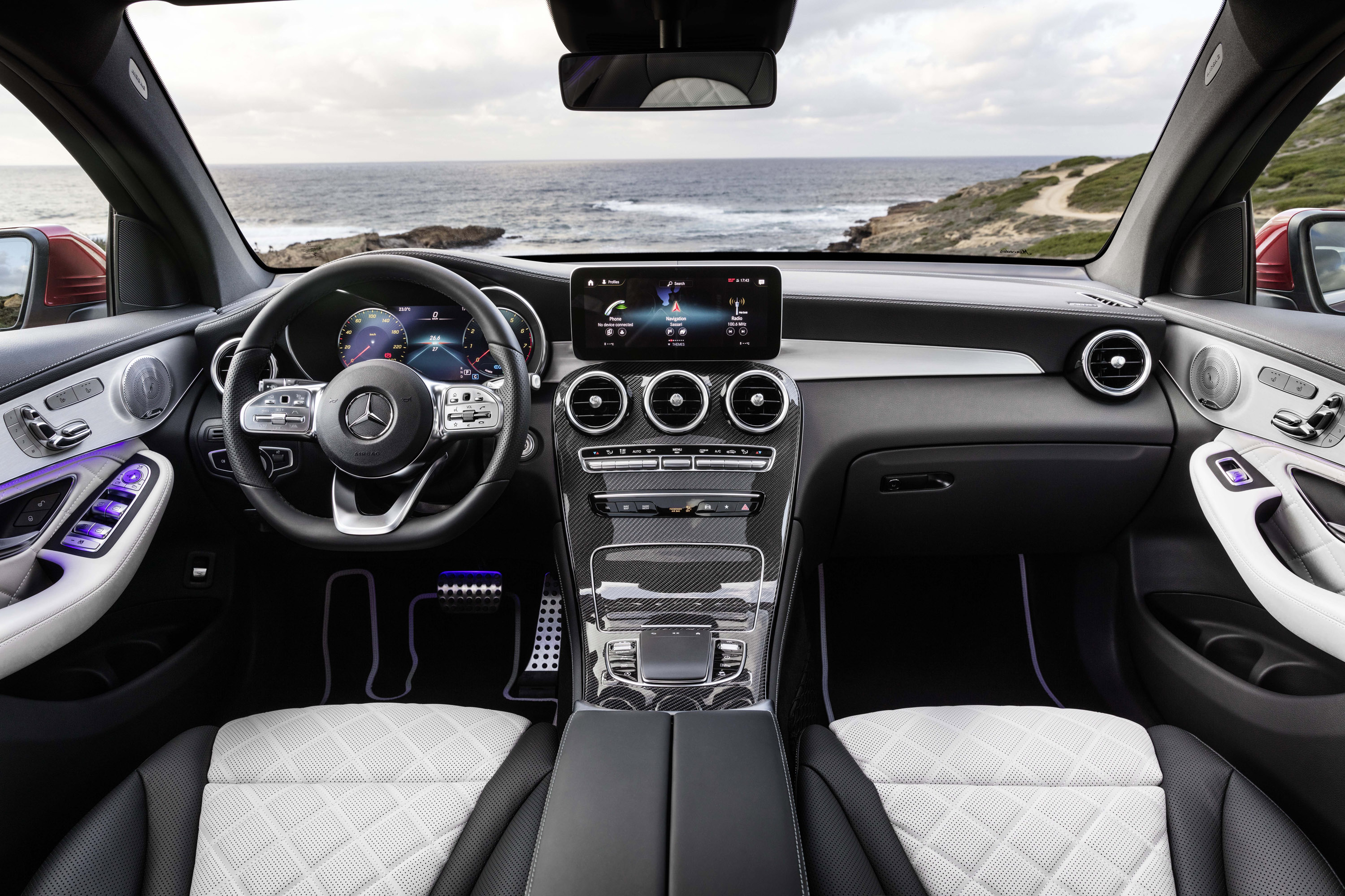 New Engine Cost >> Mercedes unveils new GLC Coupe model