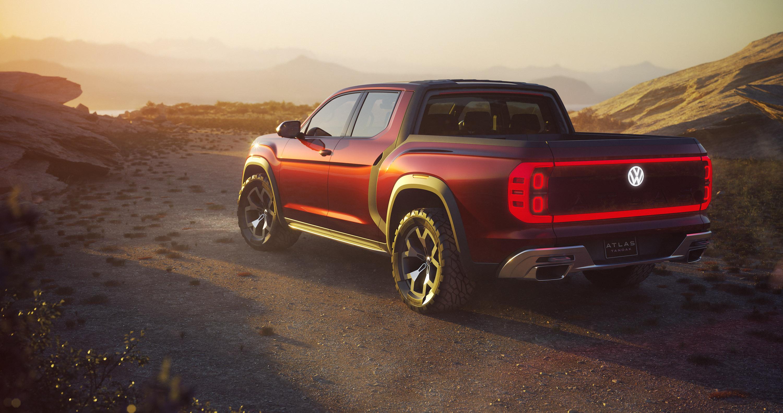 Volkswagen reveals Atlas Tanoak Concept