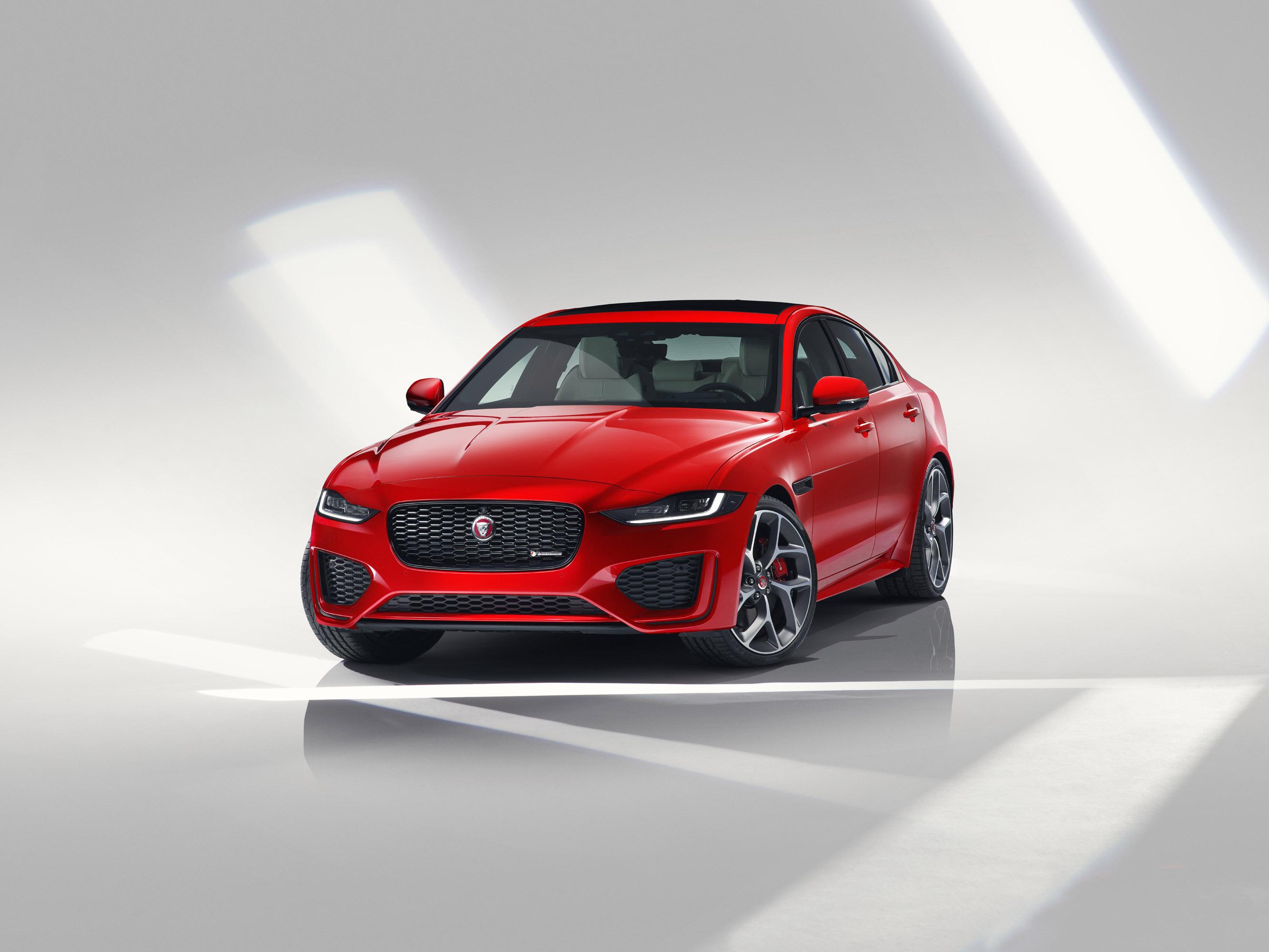 jaguar unveils 2020 xe sport sedan model
