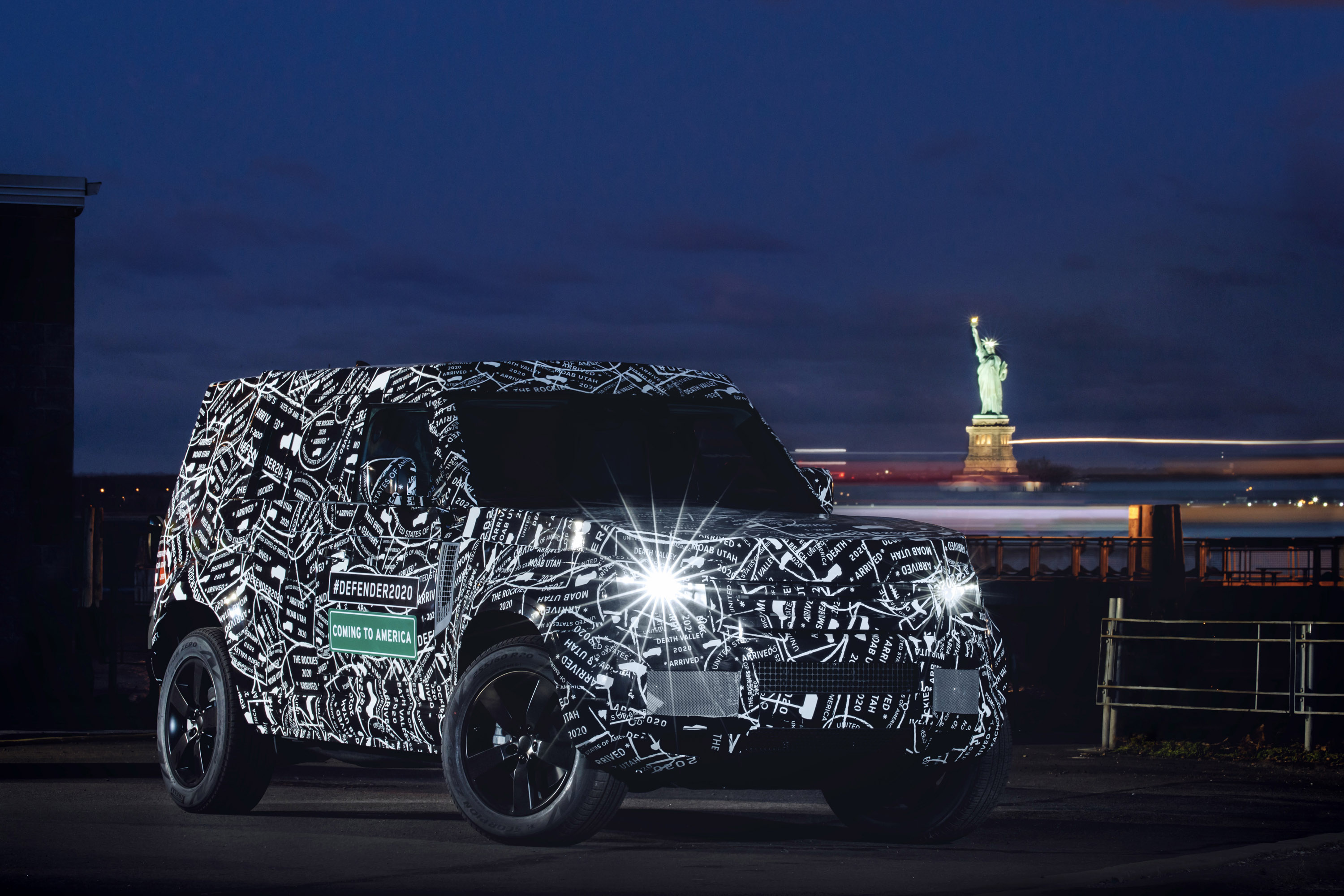 Land Rover Reveals Details For The Upcoming 2020 Defender