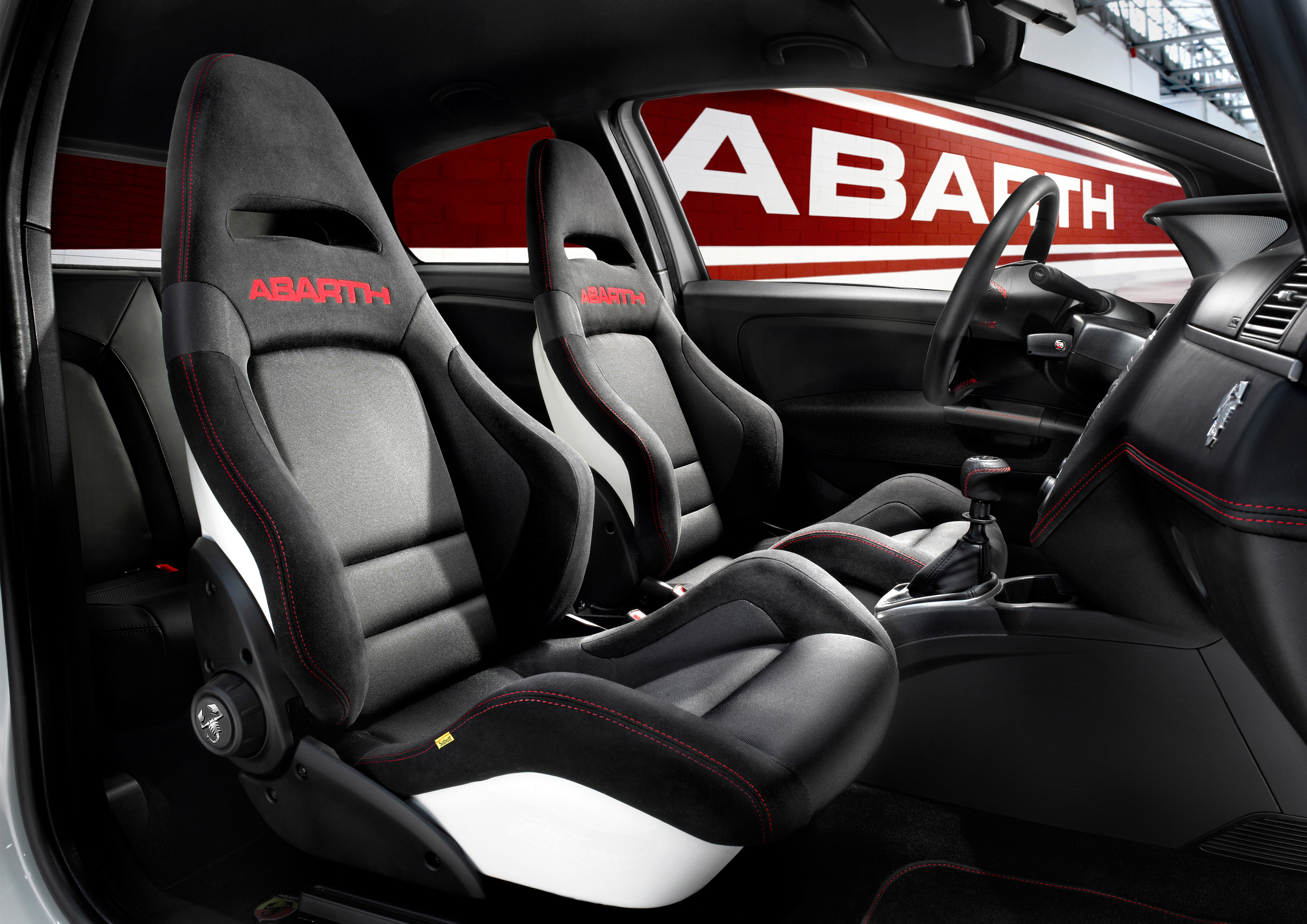 Sabelt Abarth Corse - seats