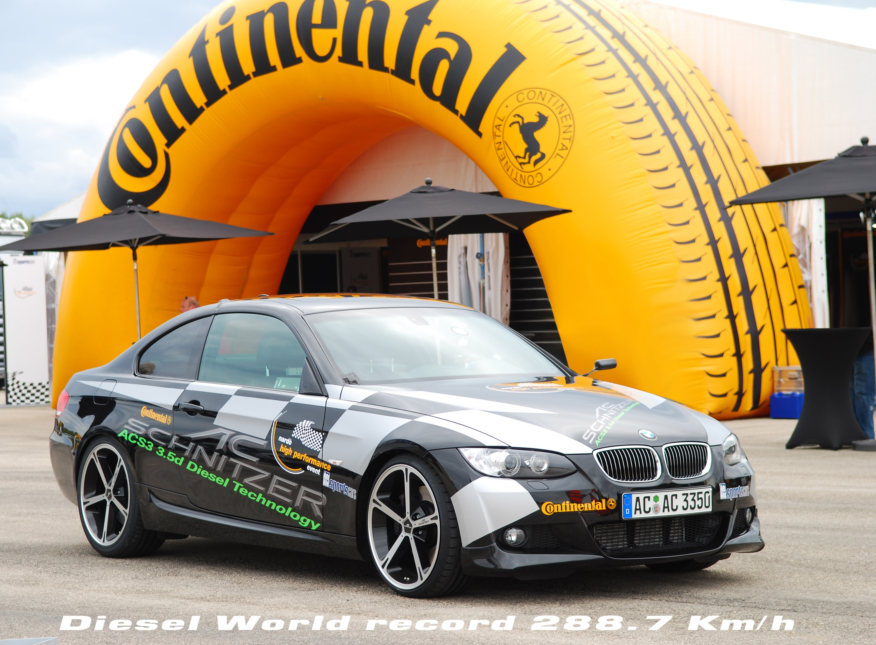Bmw 335d refined by ac schnitzer is the world fastest diesel car vanachro Images