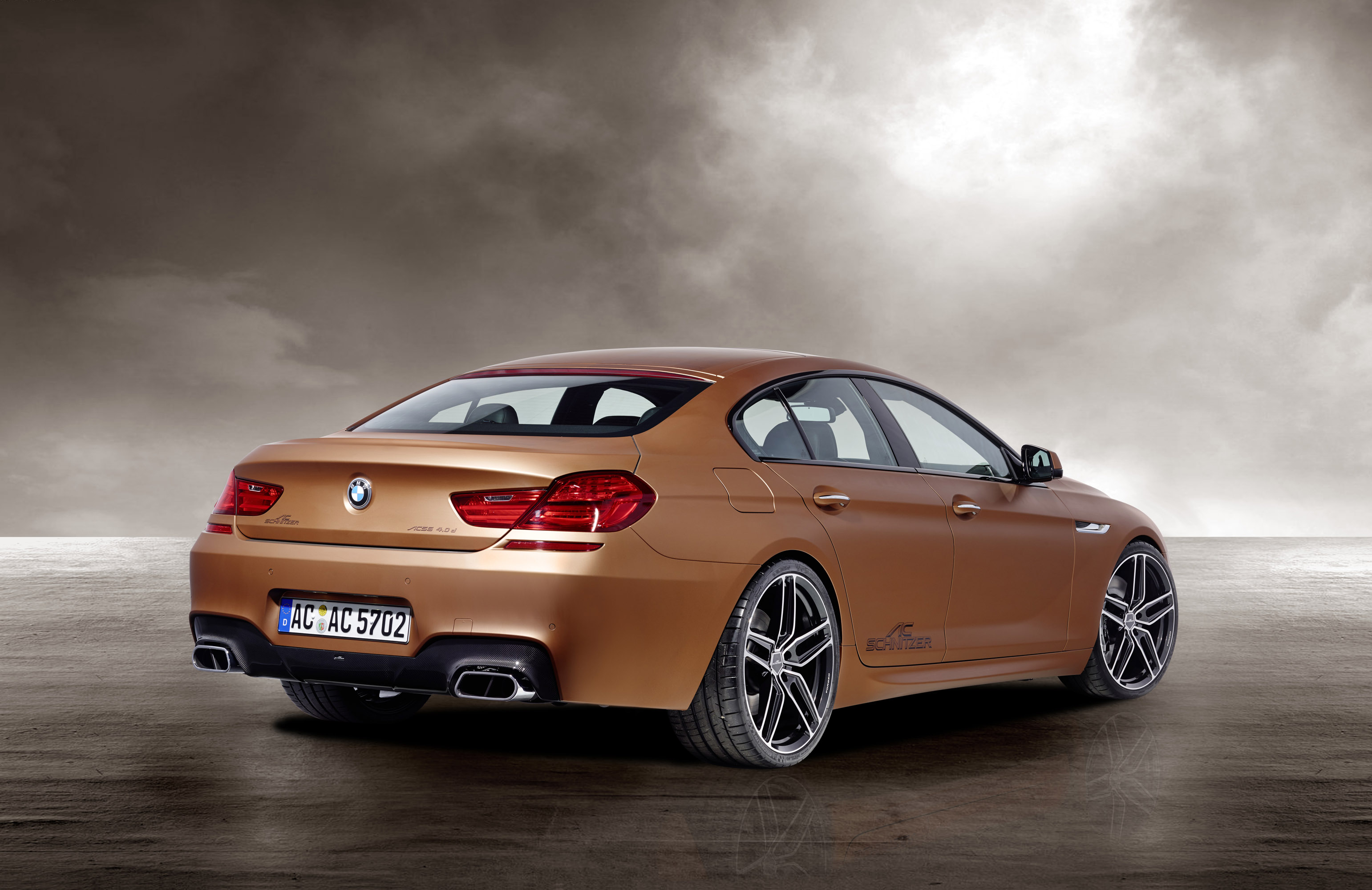 ac schnitzer bmw 6 series gran coupe copper edition picture 81700. Black Bedroom Furniture Sets. Home Design Ideas