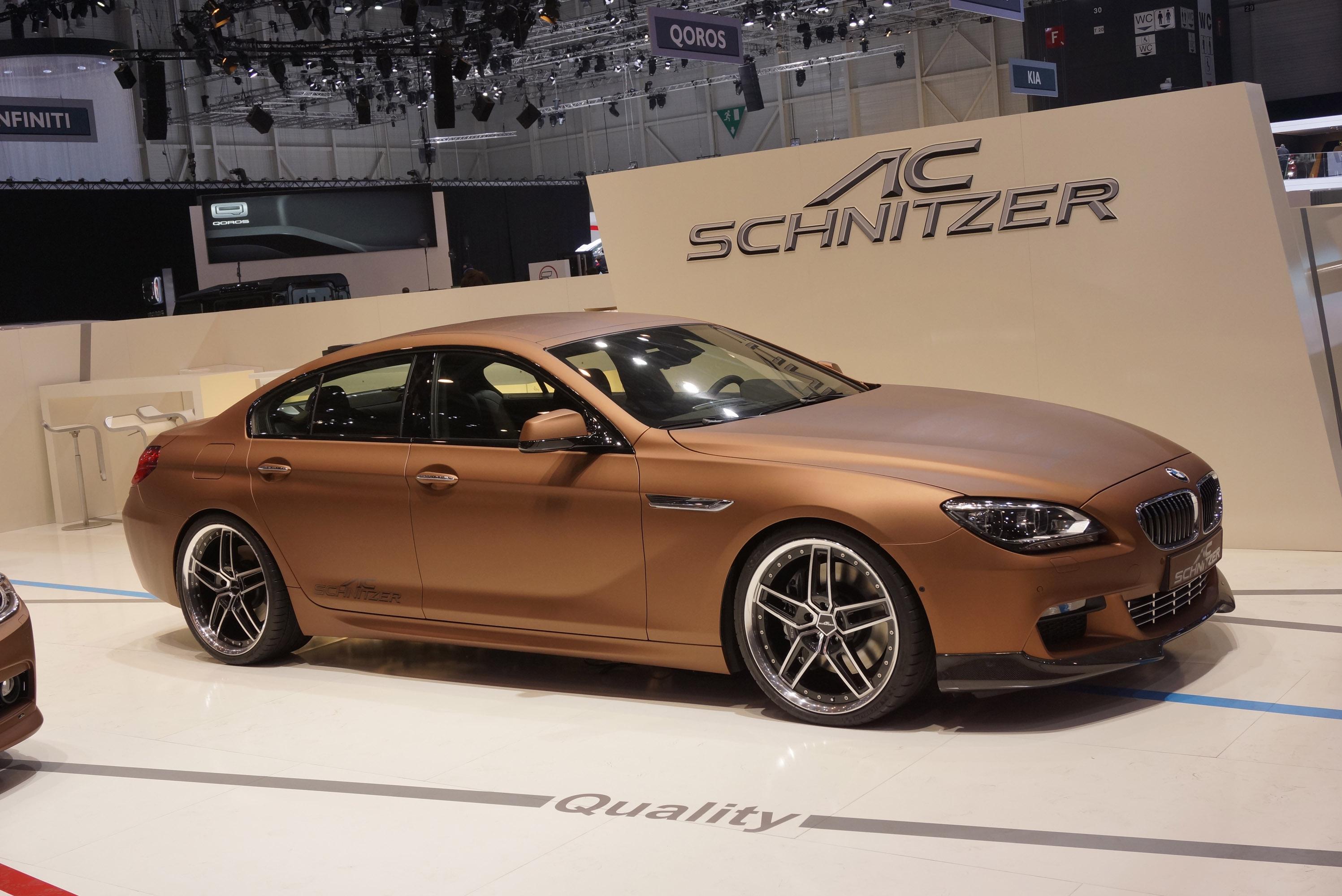 AC Schnitzer BMW 6 Series Gran Coupe Geneva 2013 - Picture ...