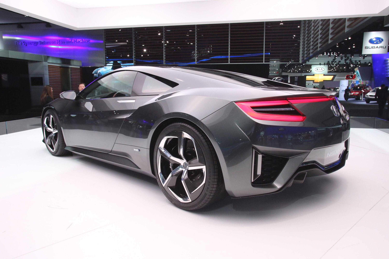2013 NAIAS: Honda reveals NSX Concept VIDEO