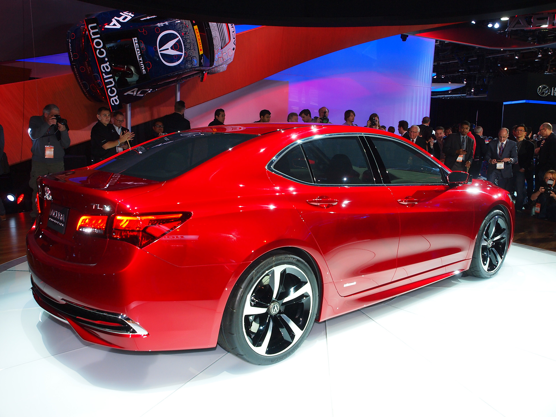 Honda Accord Compared to Acura TLX 2015