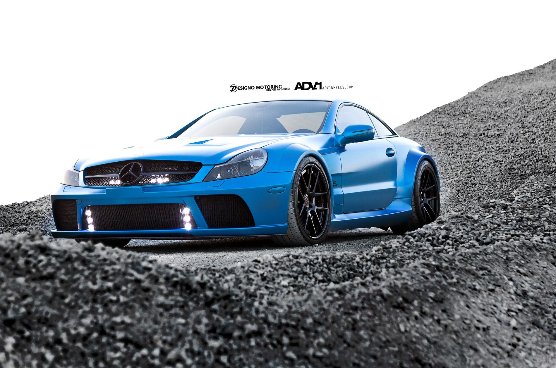 Mercedes sl 65 amg black series vs ferrari 458 italia video for Sl65 mercedes benz