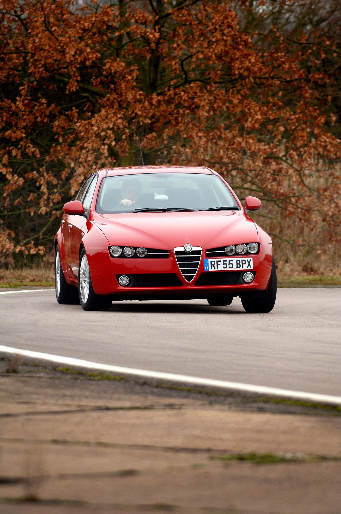 Alfa Romeo 159  № 701237  скачать