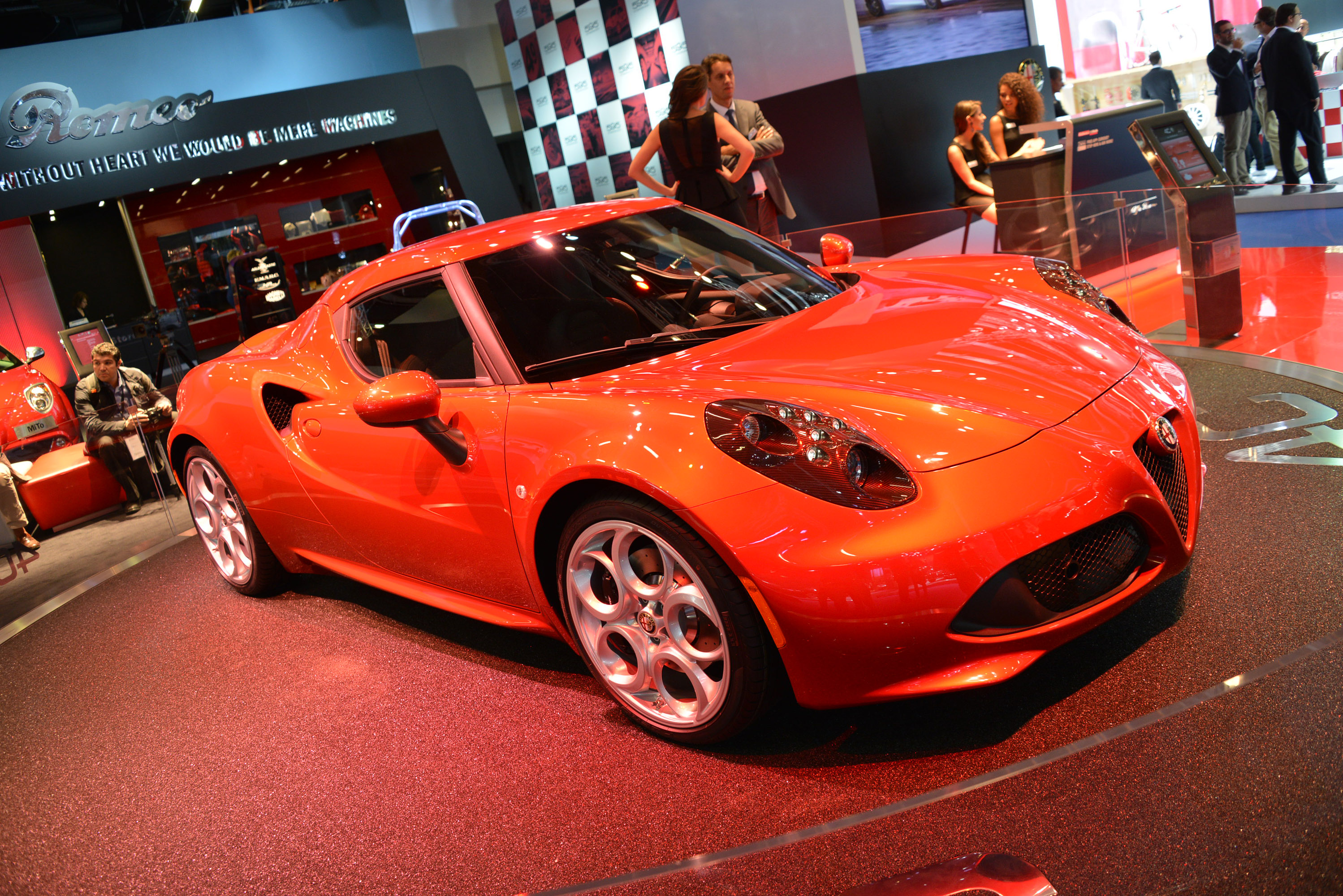 Alfa Romeo 4C Most Beautiful Car of the Year 2013 Says Internet Survey