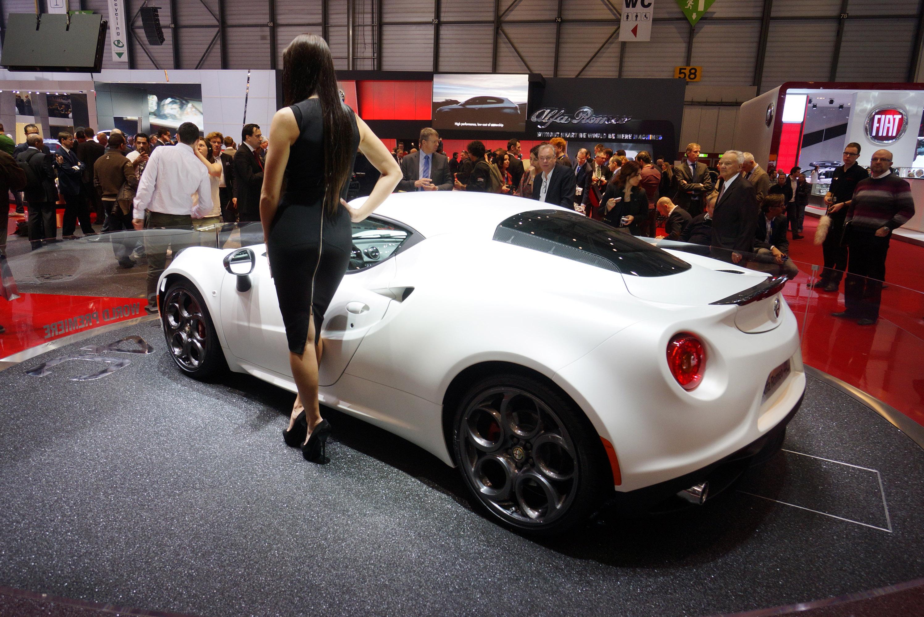 2013 Geneva Motor Show Alfa Romeo 4c Launch Edition