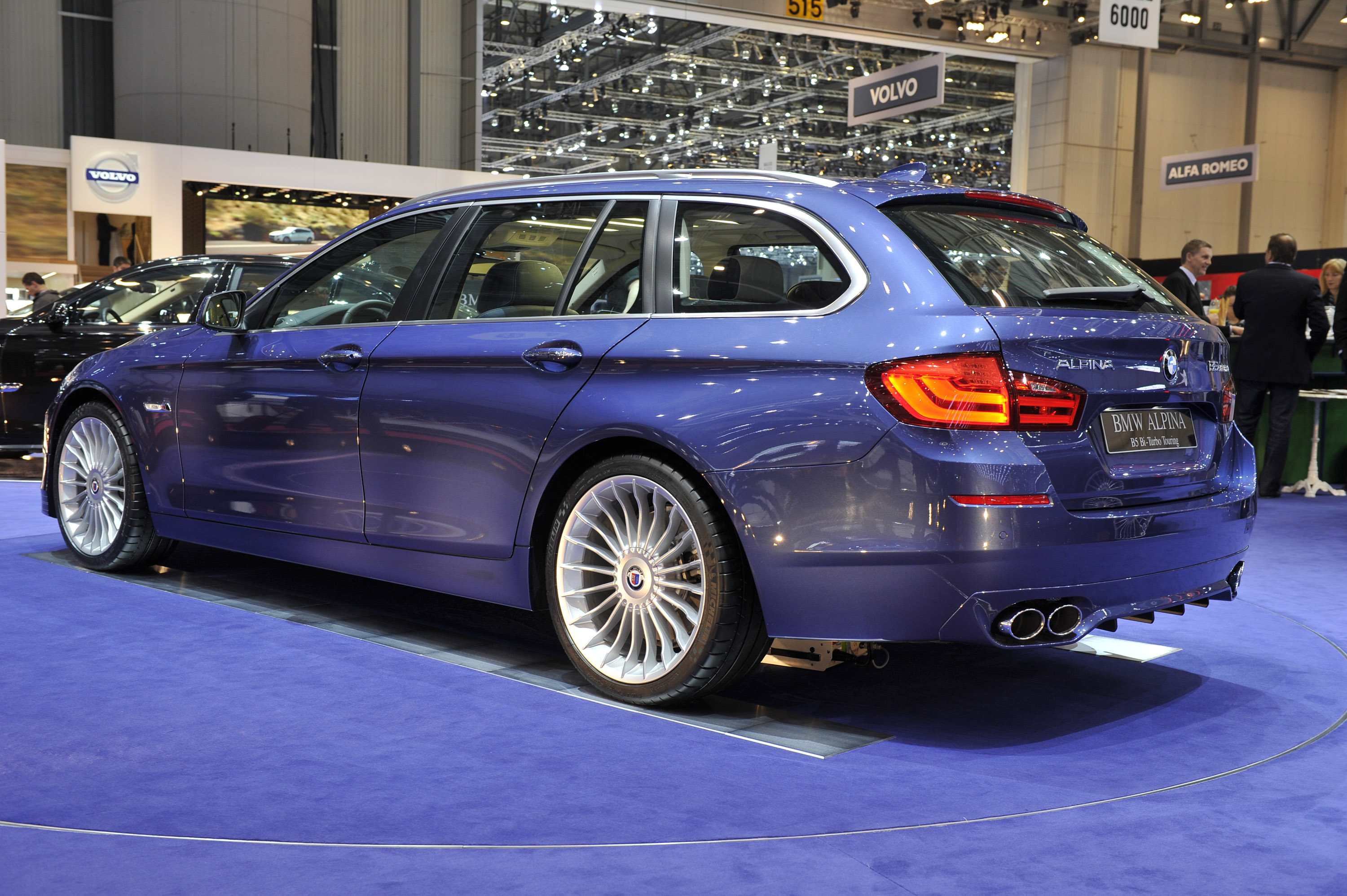 Geneva 2011 Alpina B5 Bi Turbo Touring