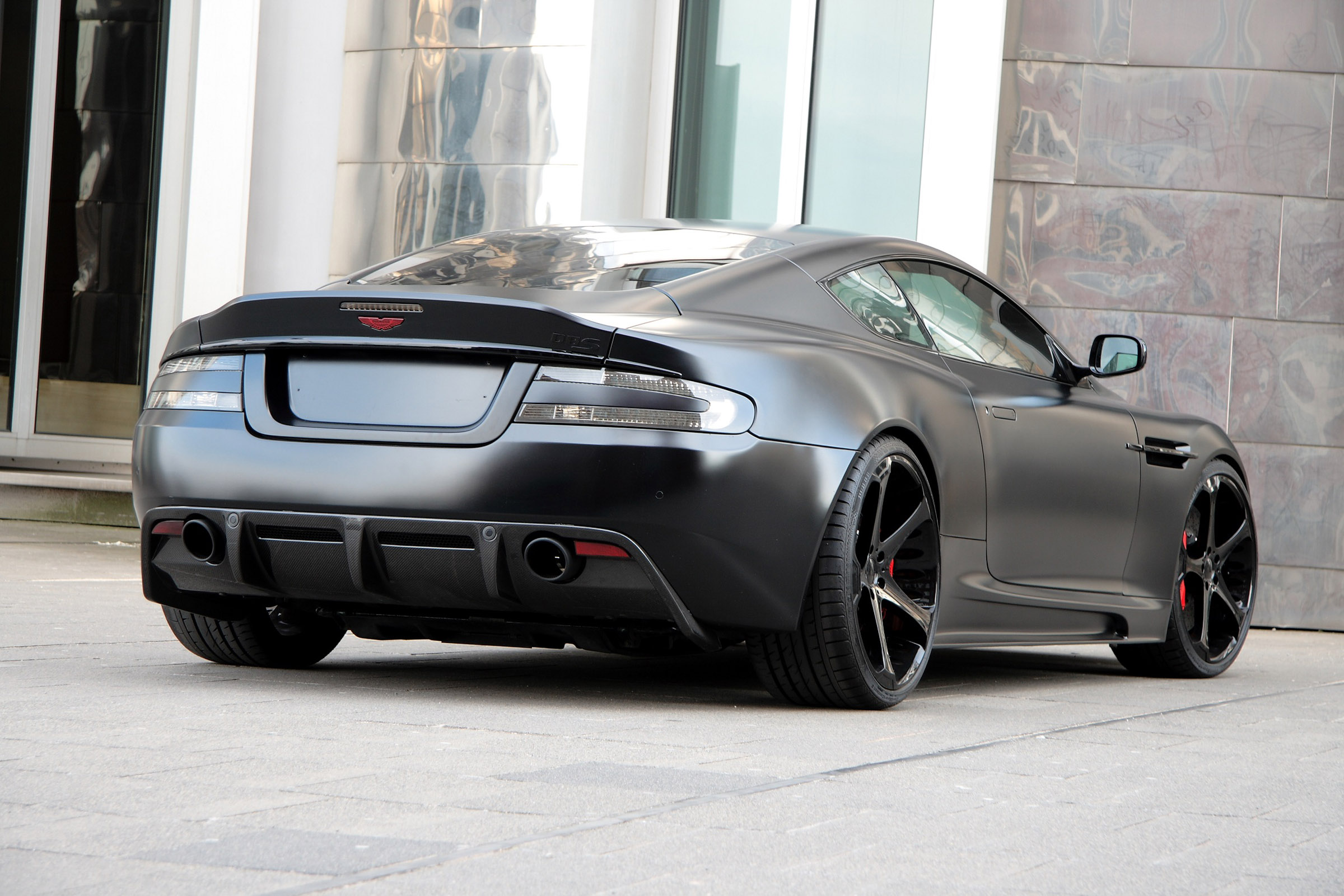 aston dbs superior black by anderson germany. Black Bedroom Furniture Sets. Home Design Ideas