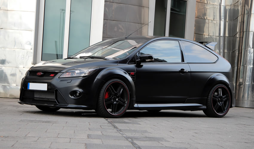anderson germany ford focus rs black racing edition - Ford Focus 2009 Black