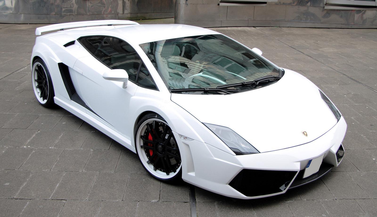Lamborghini Gallardo White Edition