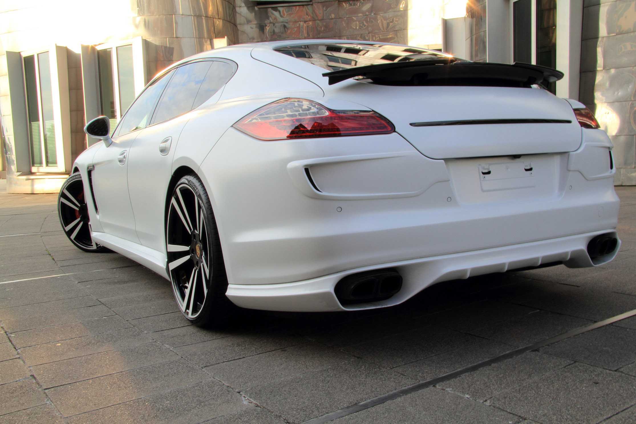 Porsche Panamera Gts White Storm Edition By Anderson Germany