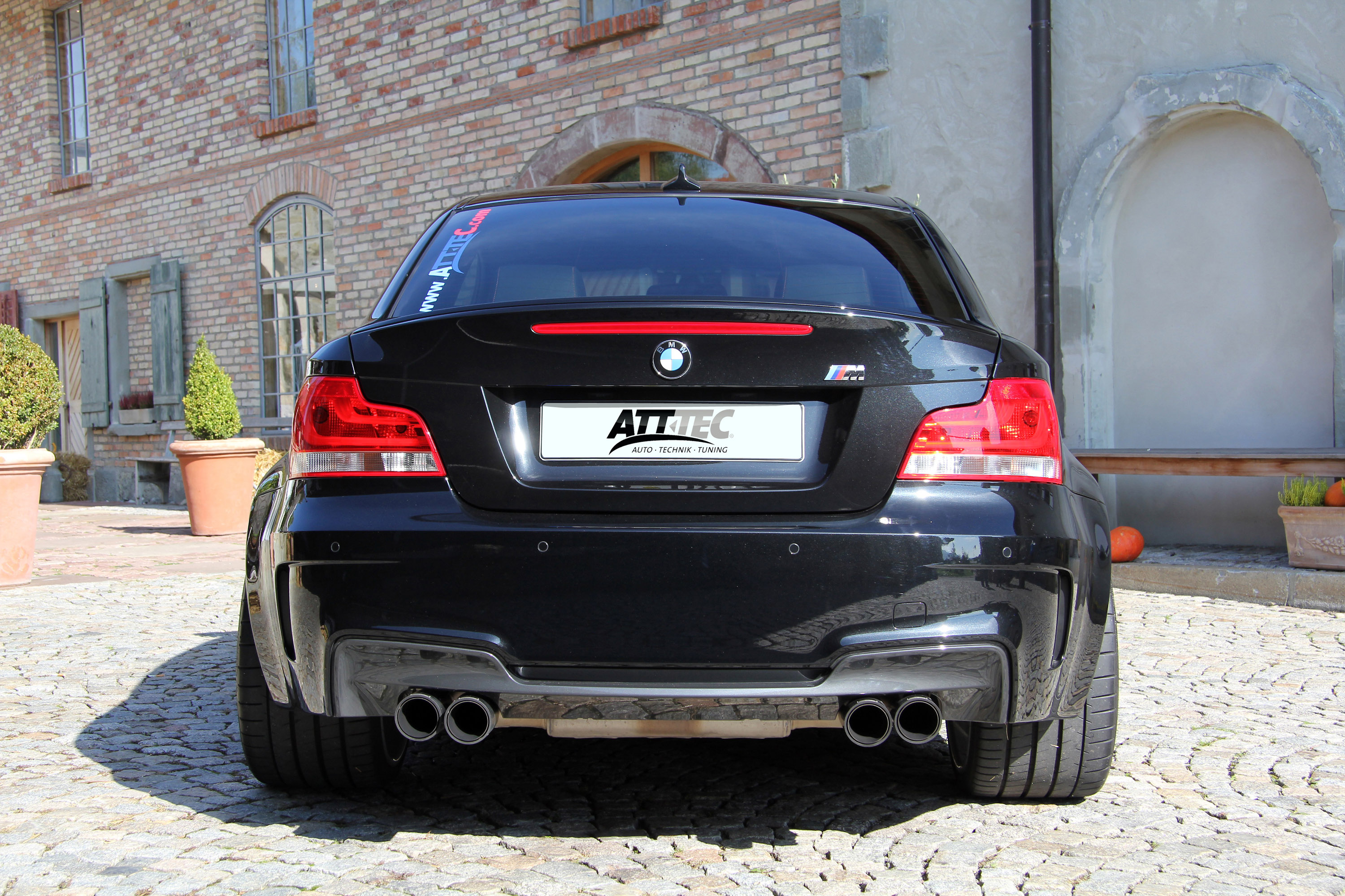att tec bmw 1 series m coupe. Black Bedroom Furniture Sets. Home Design Ideas