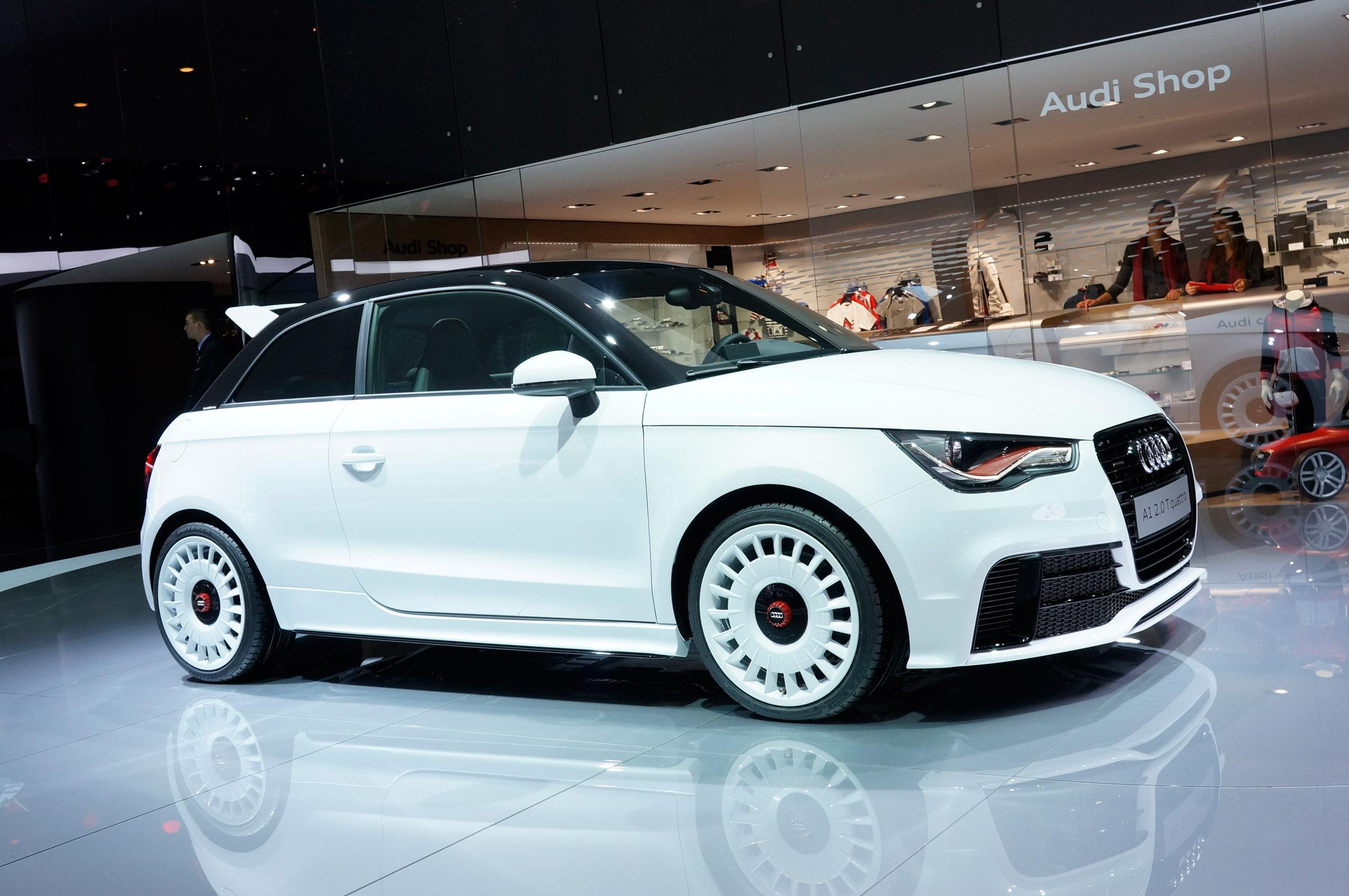 2012 Geneva Motor Show Audi A1 2 0 T Quattro