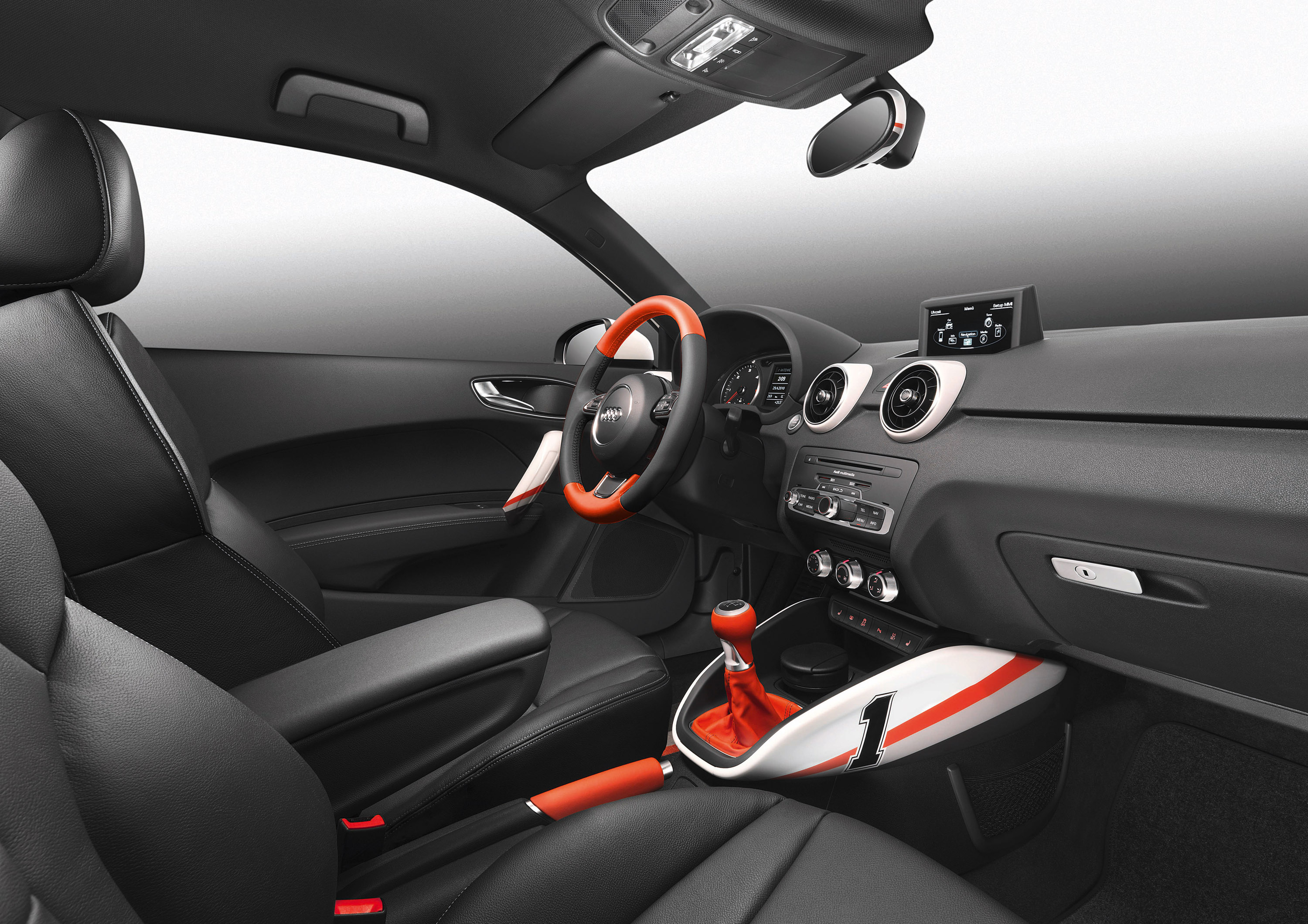 Audi a1 competition kit picture 37210 for Interieur tuning auto