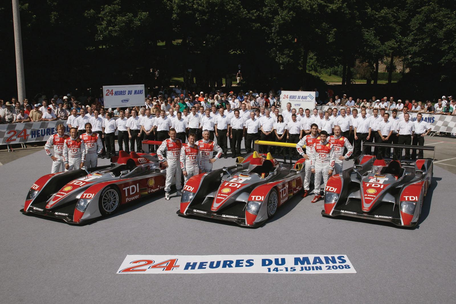 Audi Le Mans 2008 - Picture 15705