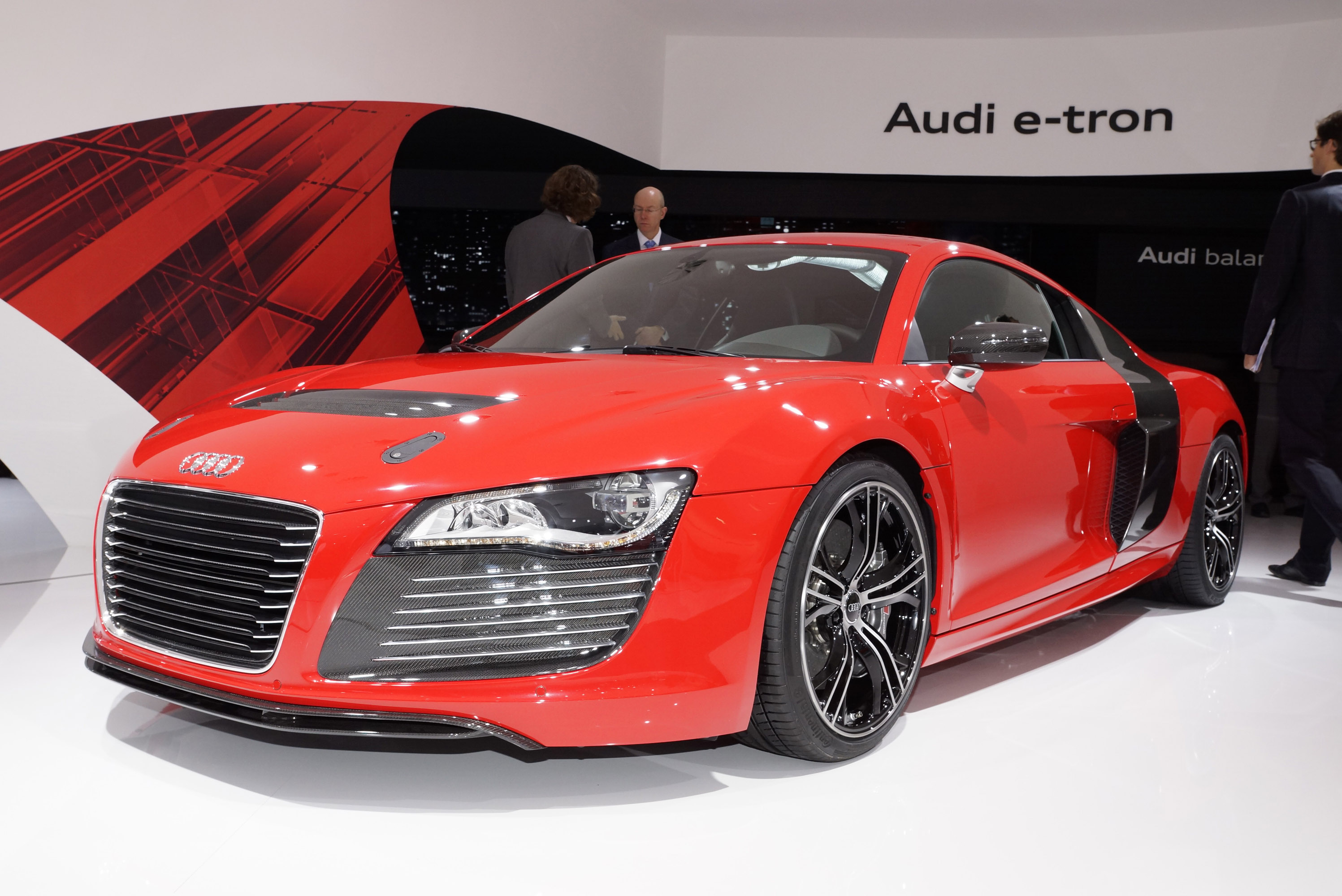 audi r8 e tron frankfurt 2011 picture 58512. Black Bedroom Furniture Sets. Home Design Ideas