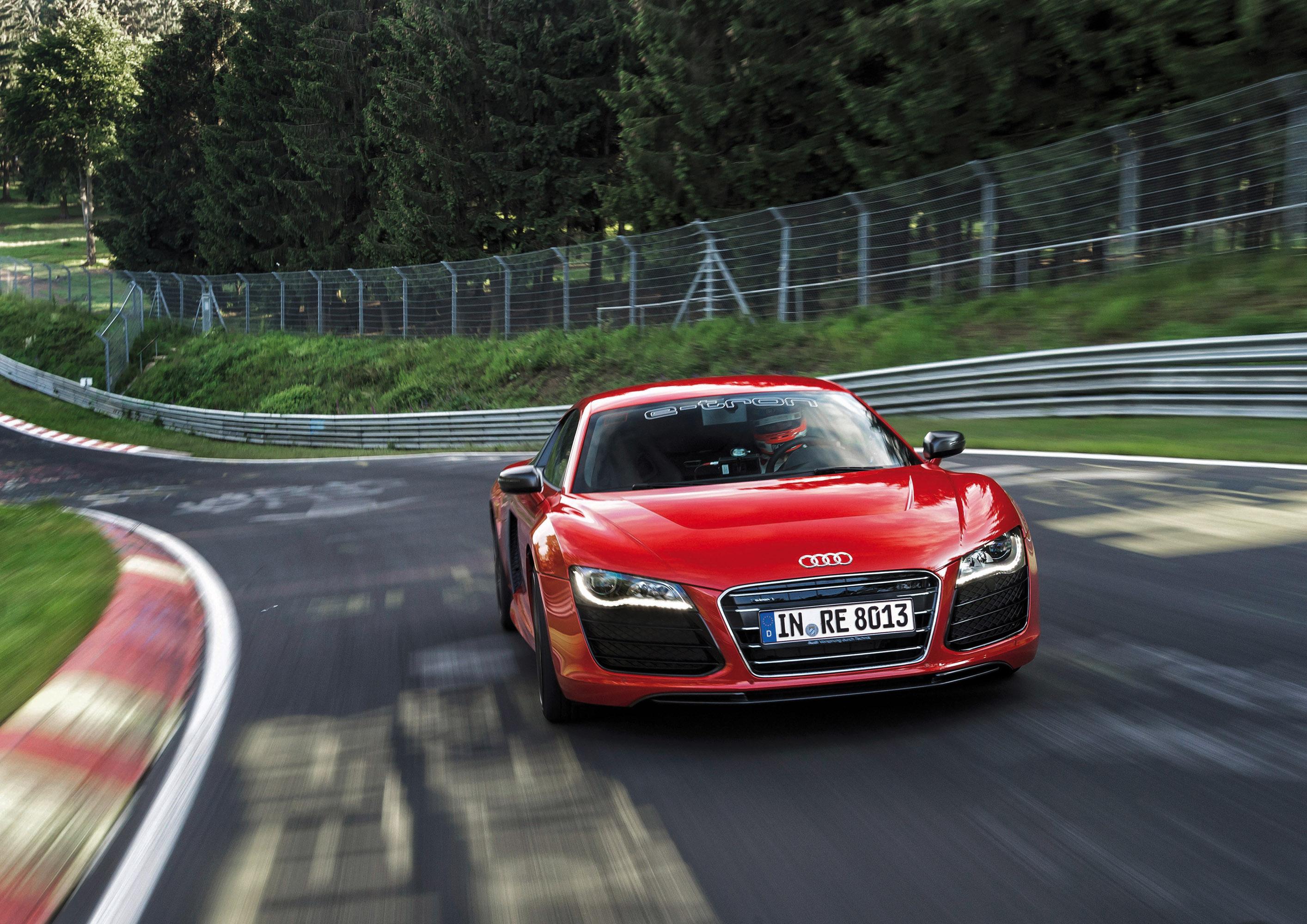 Audi R8 E Tron Nurburgring Record Hd Video