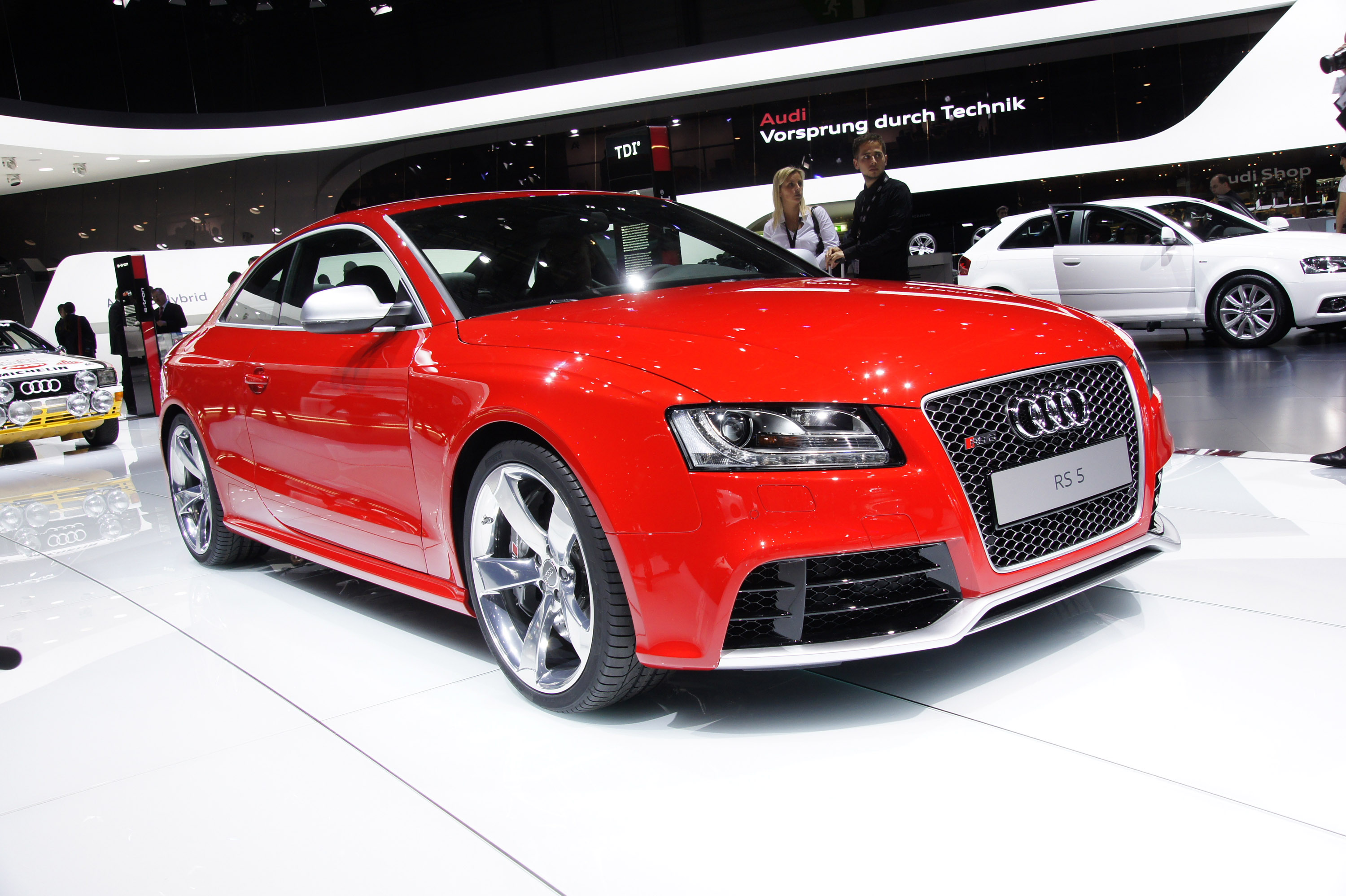 audi rs5 geneva 2010 picture 35295. Black Bedroom Furniture Sets. Home Design Ideas
