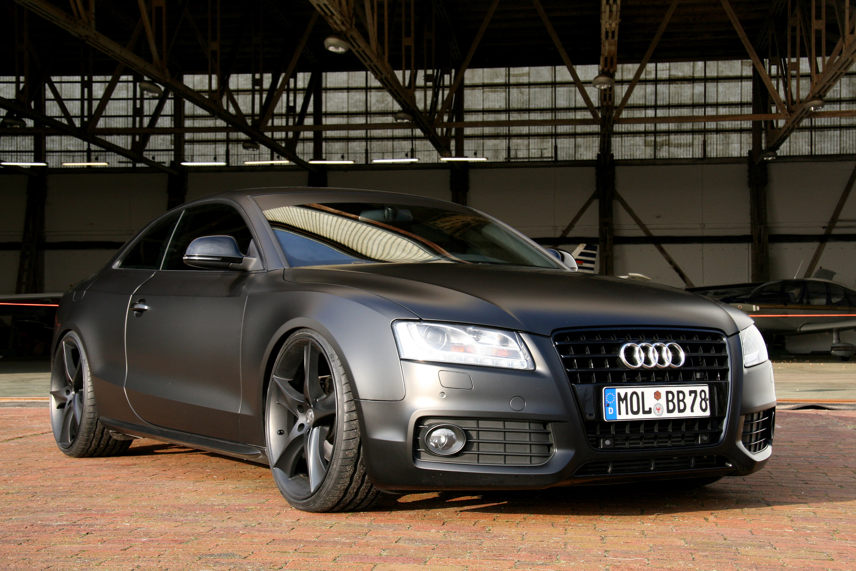 2009 Audi A5 Matt Black