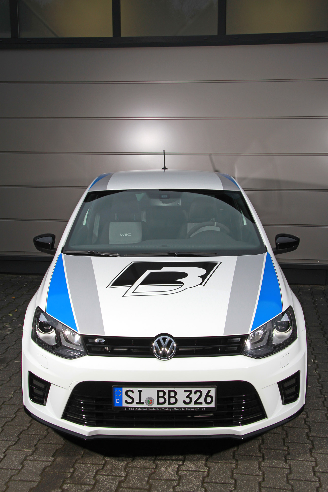 b b automobiltechnik beef up the volkswagen polo r wrc street. Black Bedroom Furniture Sets. Home Design Ideas