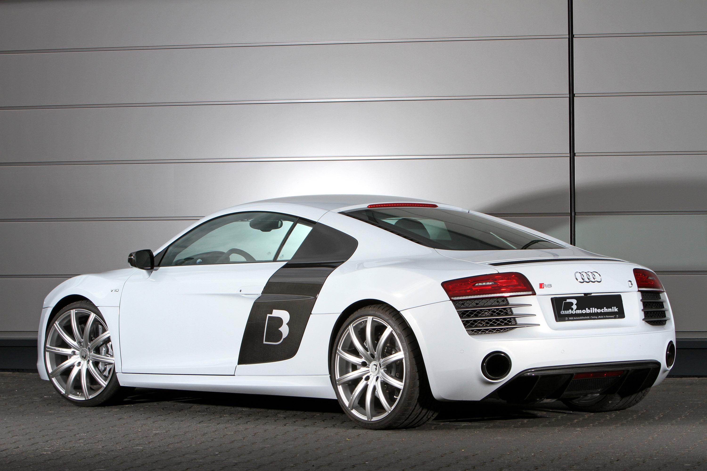 B&B Boosts Audi R8 V10 Plus