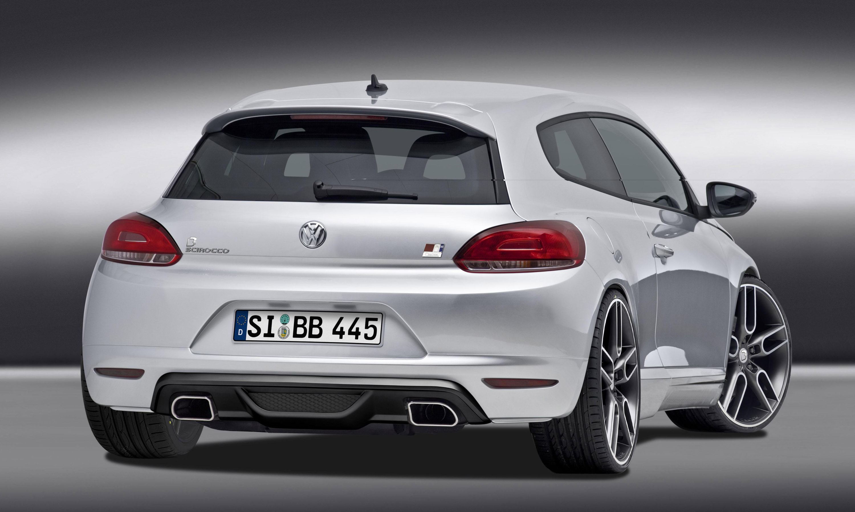 B&B VW Scirocco – Sports-Coupe up to 350hp / 450Nm