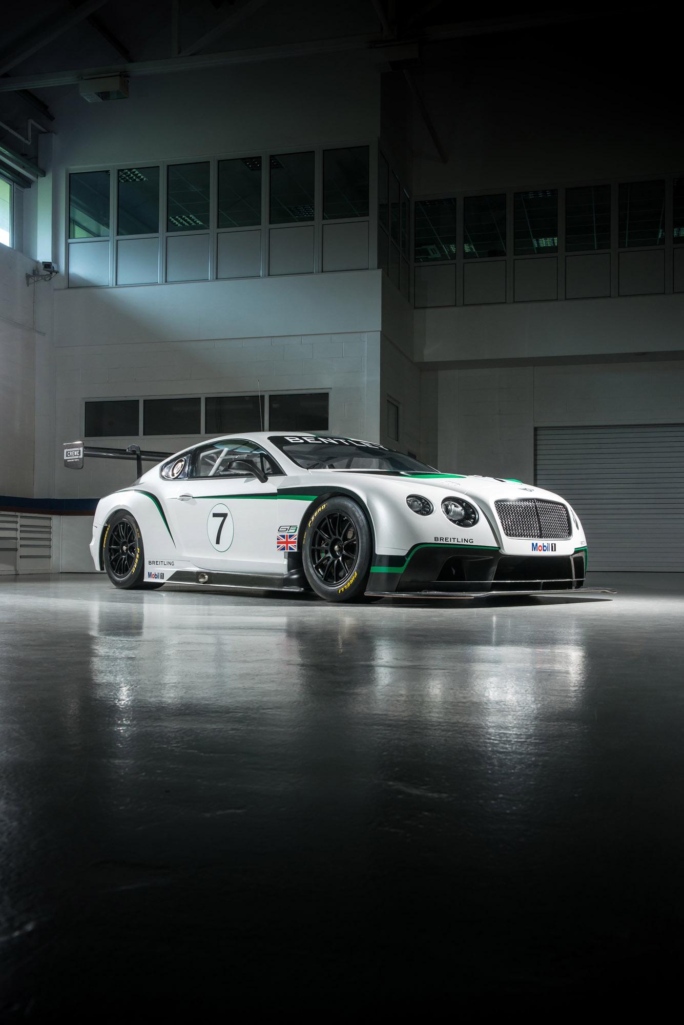 Bentley Continental Gt3 Race Car Full Specs