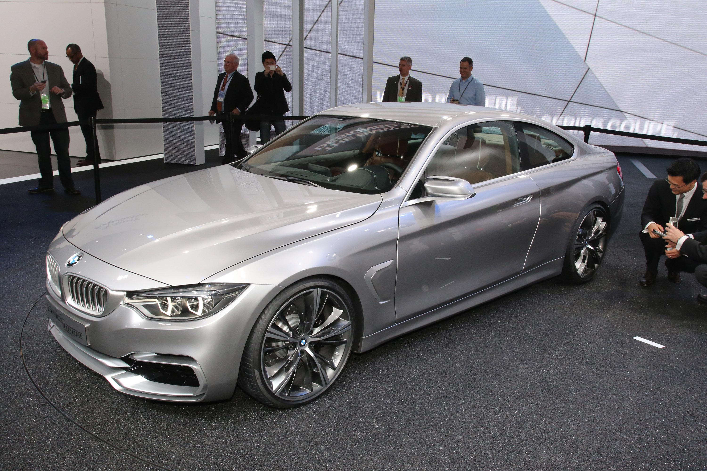 BMW 4 Series Coupe Concept Detroit 2013 - Picture 79764