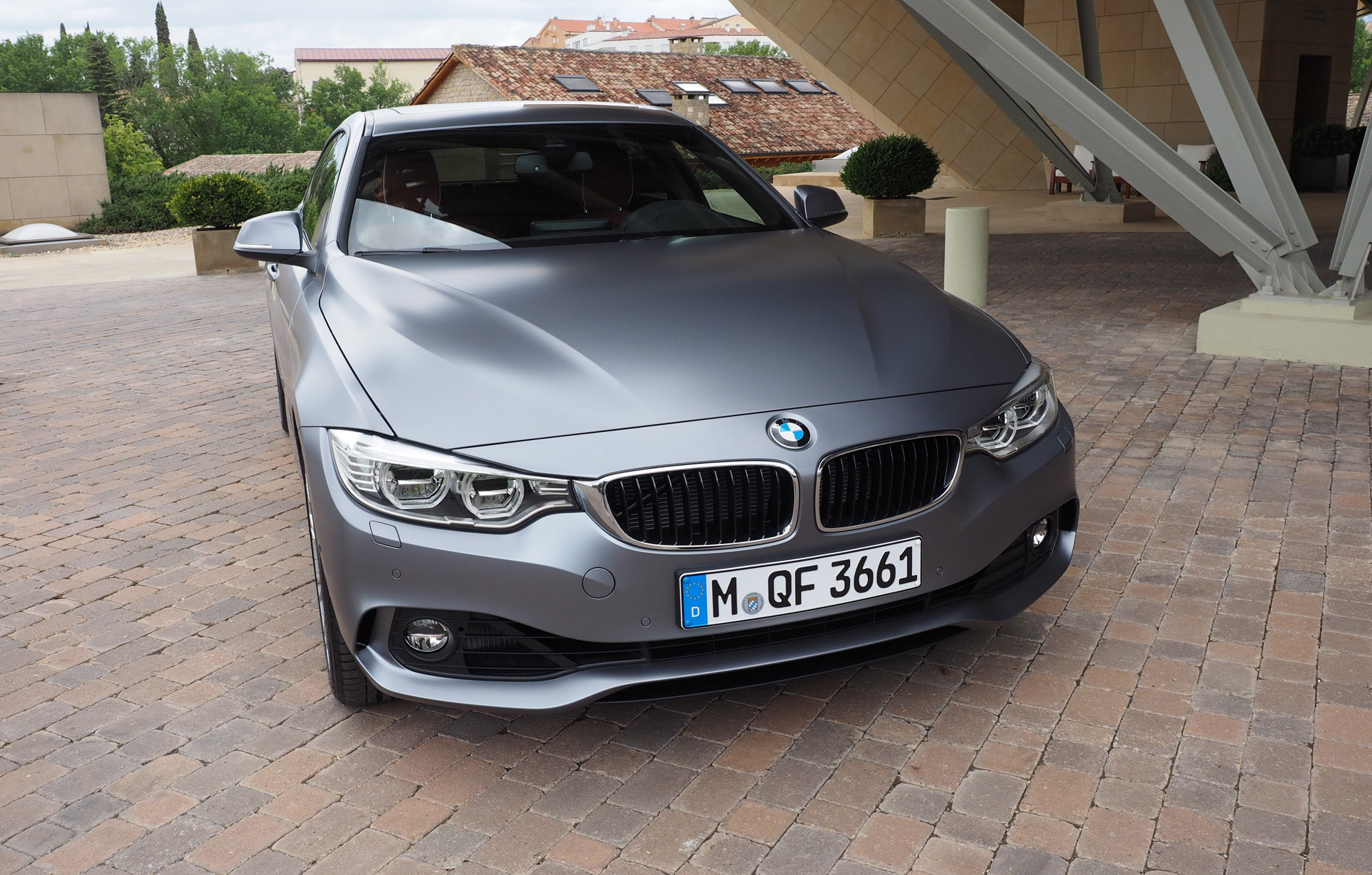 Bmw 4 Series Gran Coupe Individual Frozen Cashmere Silver 2015 Mineral Grey 428i