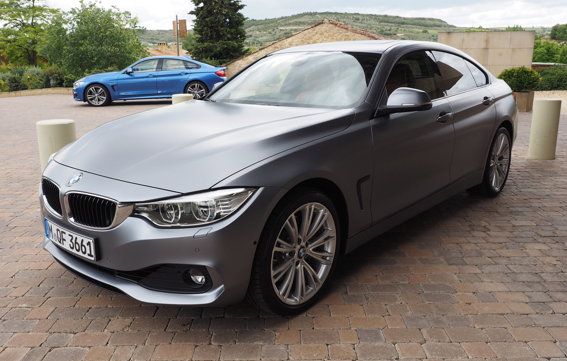 BMW 428I Coupe >> BMW 4-Series Gran Coupe Individual Frozen Cashmere Silver