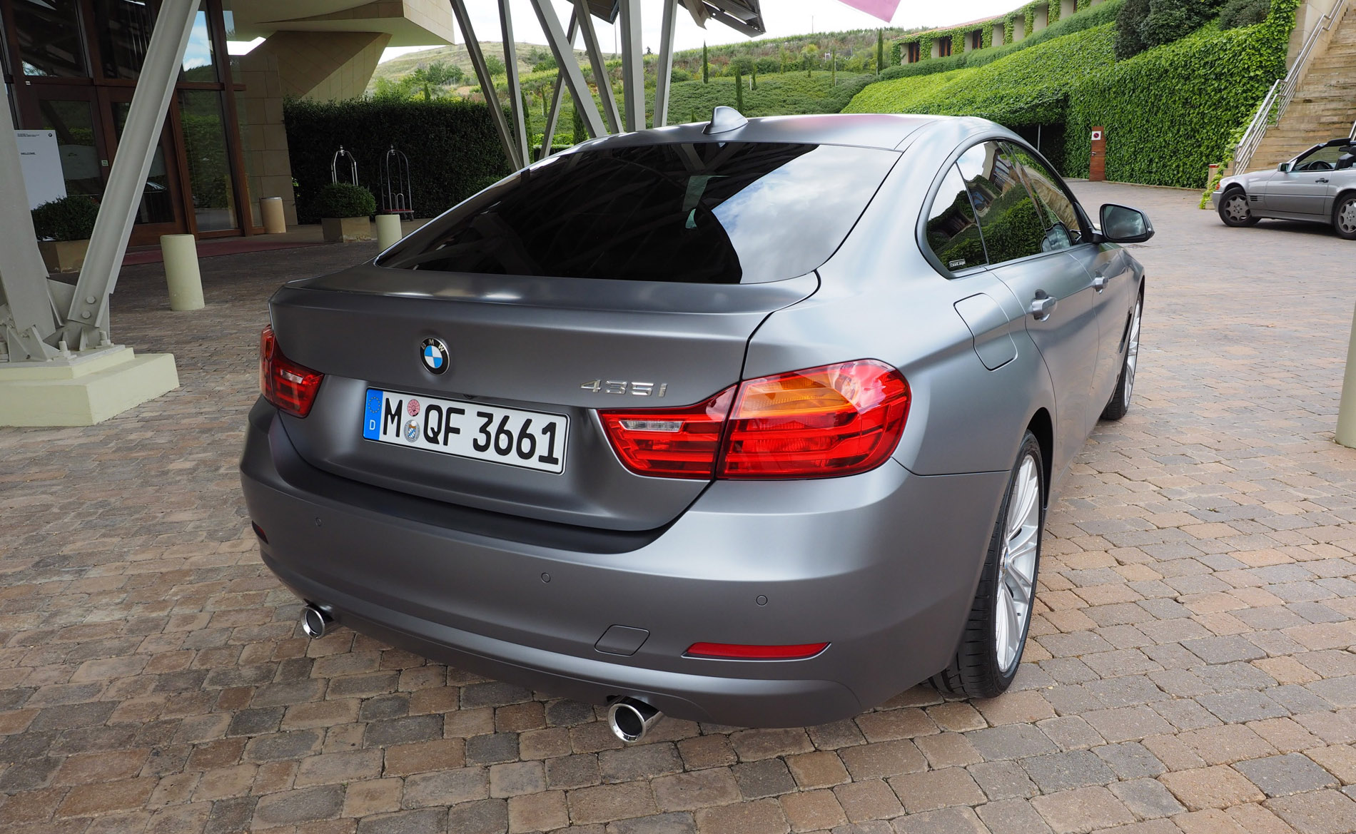 BMW Series Gran Coupe Individual Frozen Cashmere Silver - 2014 bmw 4 series gran coupe price