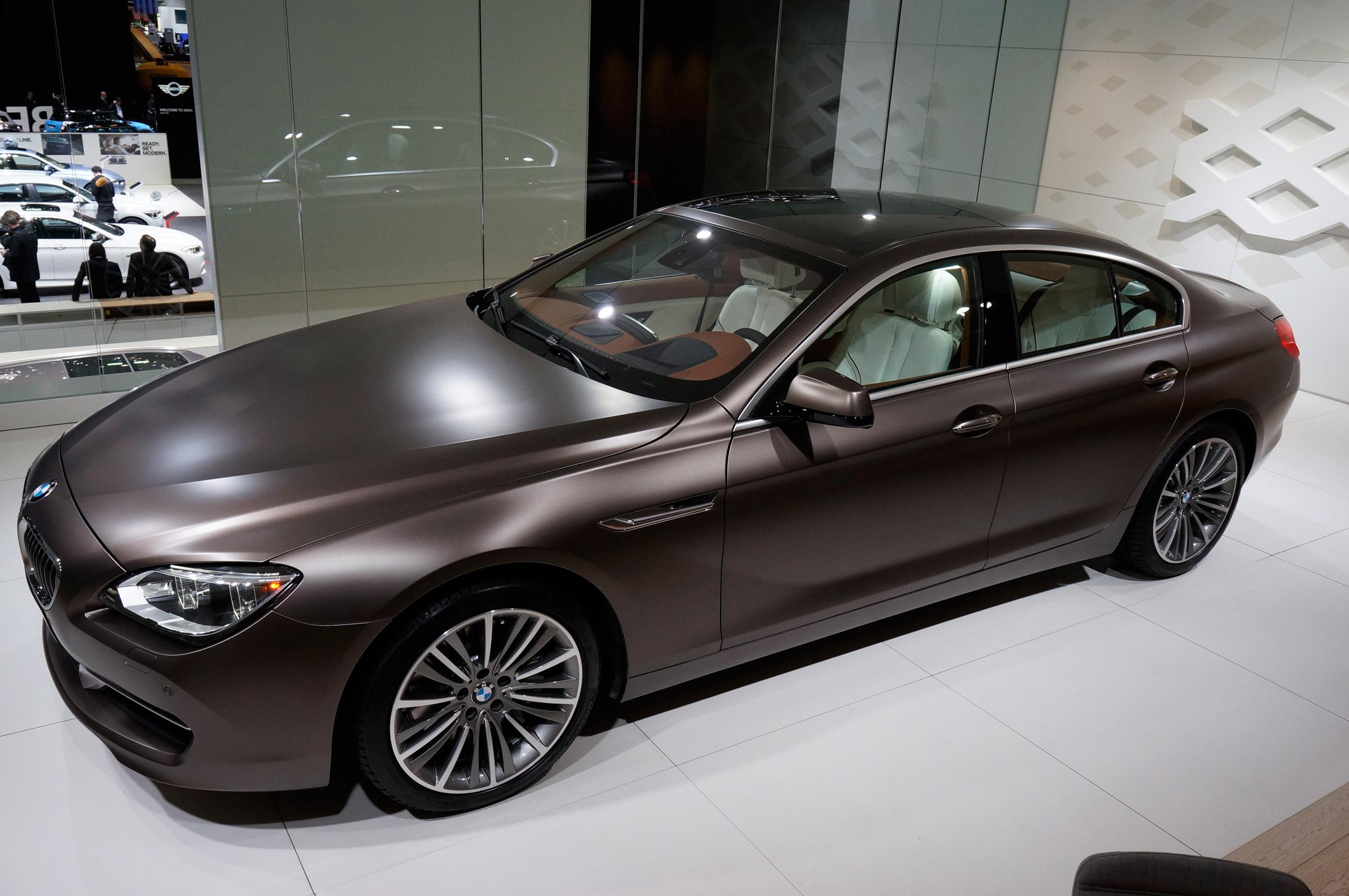 Bmw I Gran Coupe Geneva