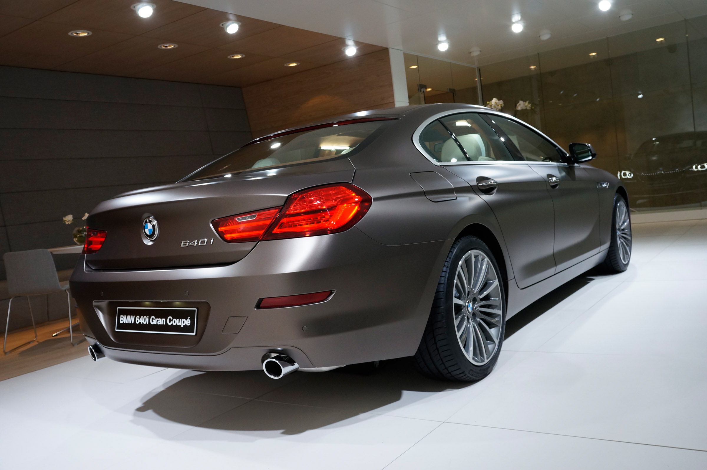 BMW I Gran Coupe Geneva Picture - 2012 bmw 640i gran coupe
