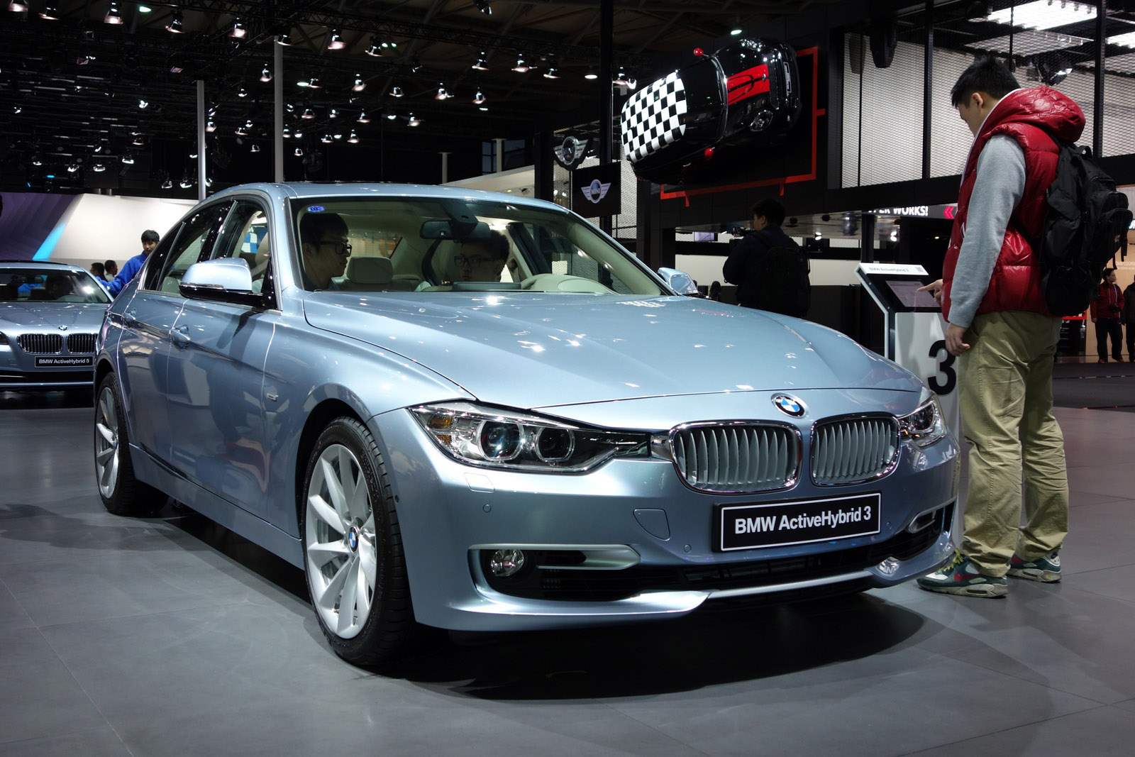 BMW Active Hybrid 5 Series Shanghai 2013 - Picture 84369