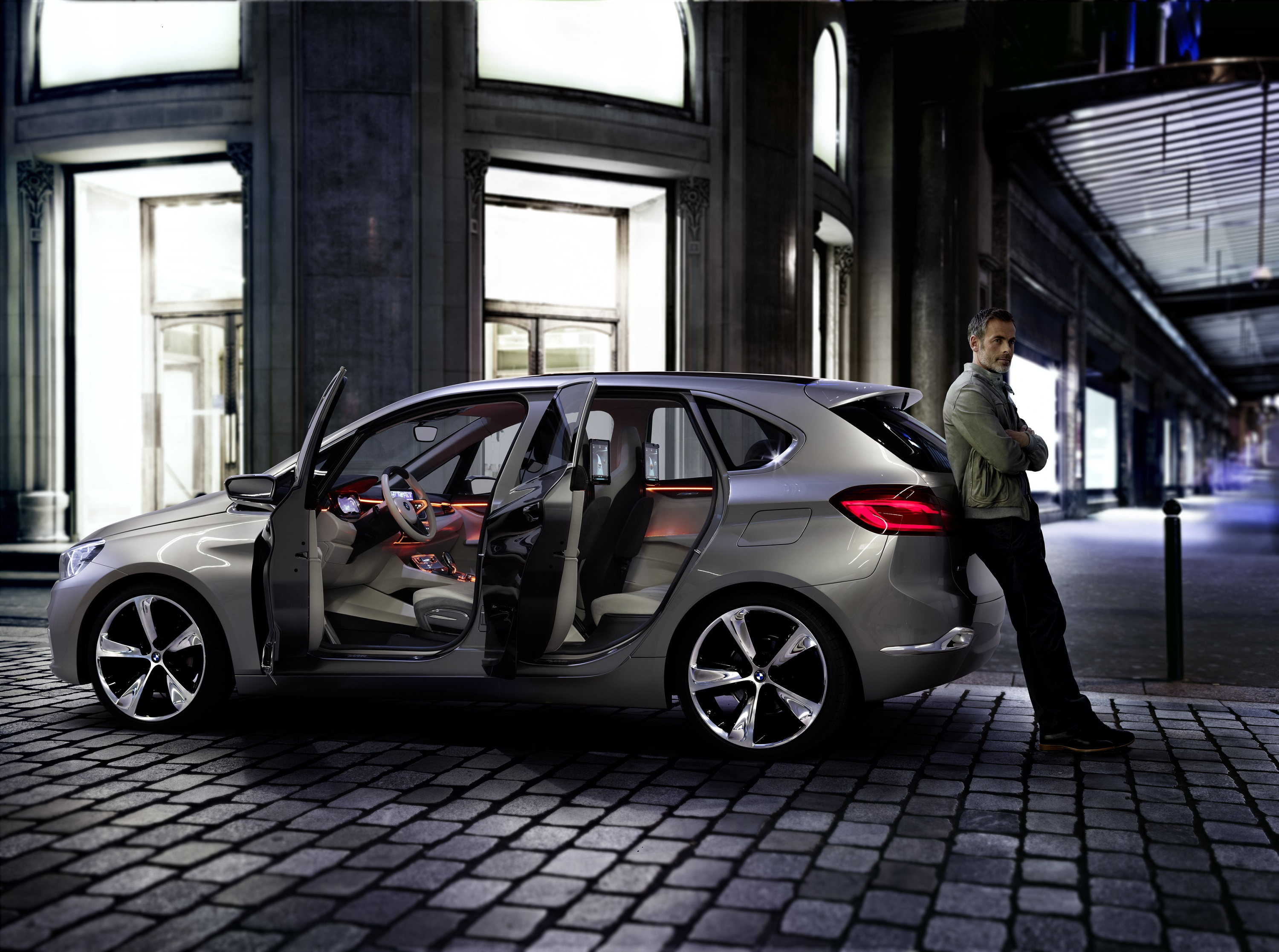 Bmw Concept Active Tourer At The 2013 New York