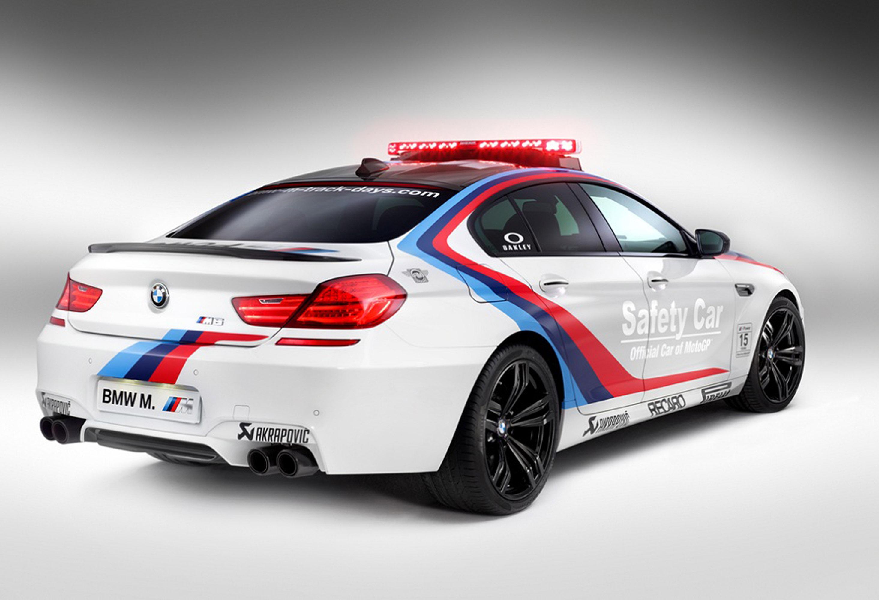 BMW ///M6 Gran Coupe MotoGP Safety Car
