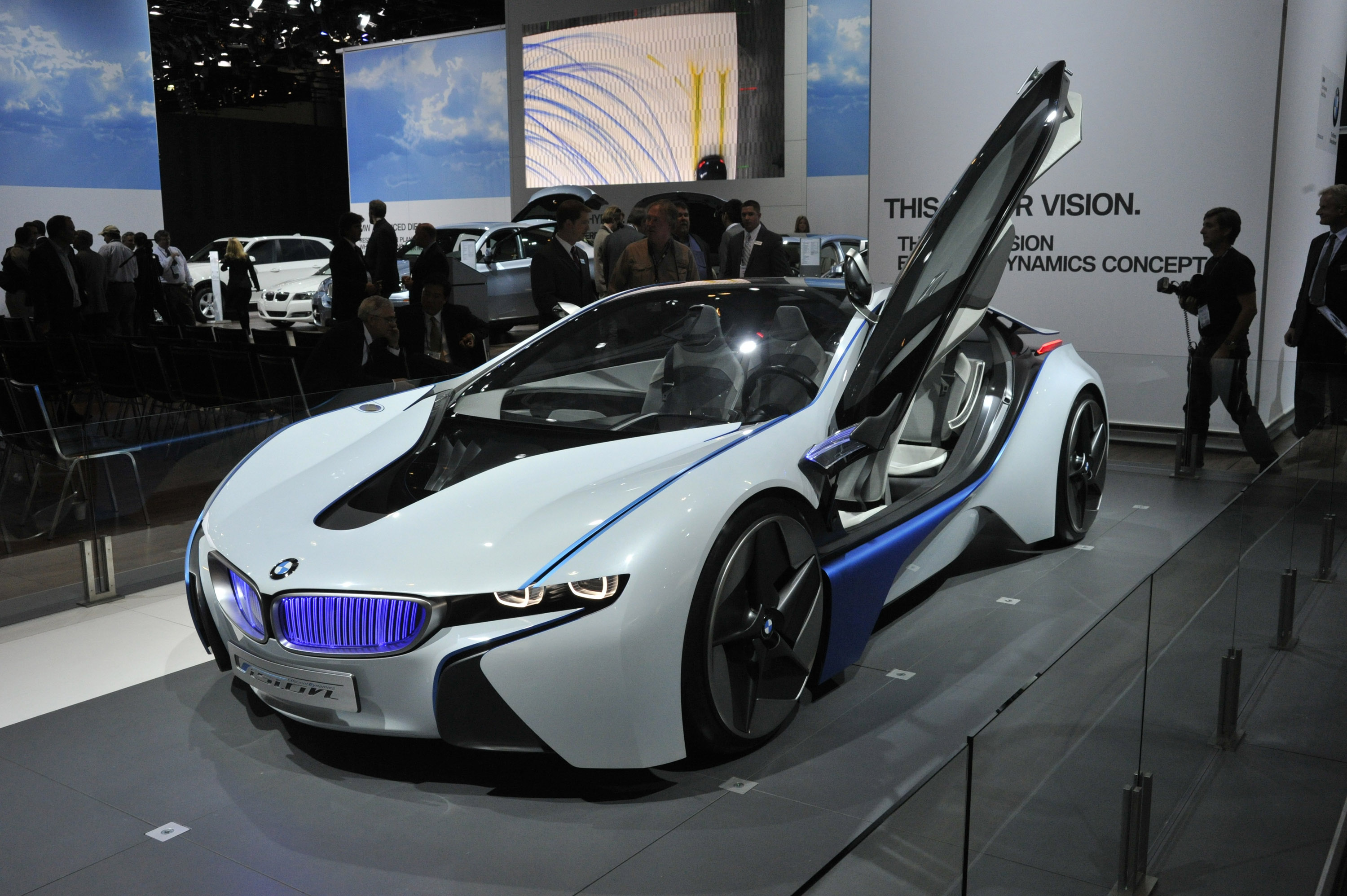 bmw vision efficientdynamics los angeles 2009 - picture 45765