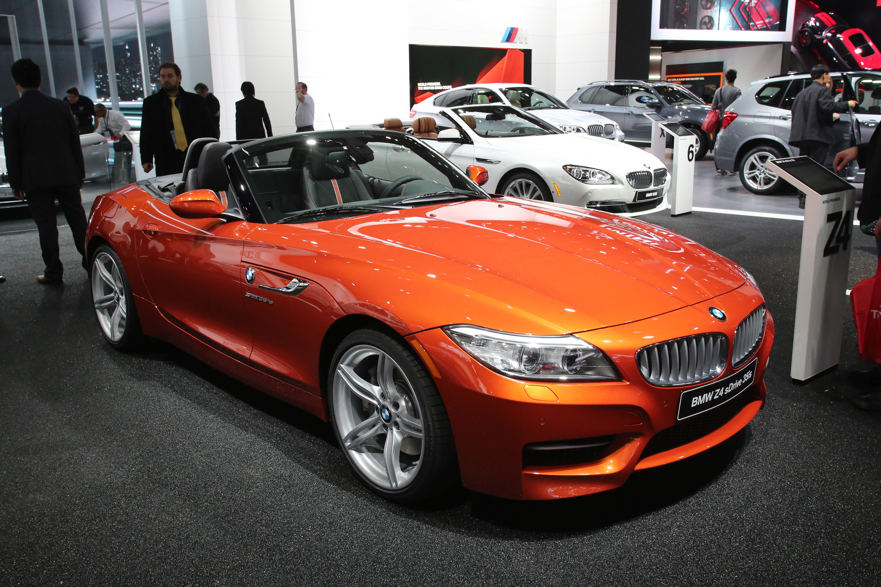 Bmw Z4 Sdrive 35is Detroit 2013 Picture 79951